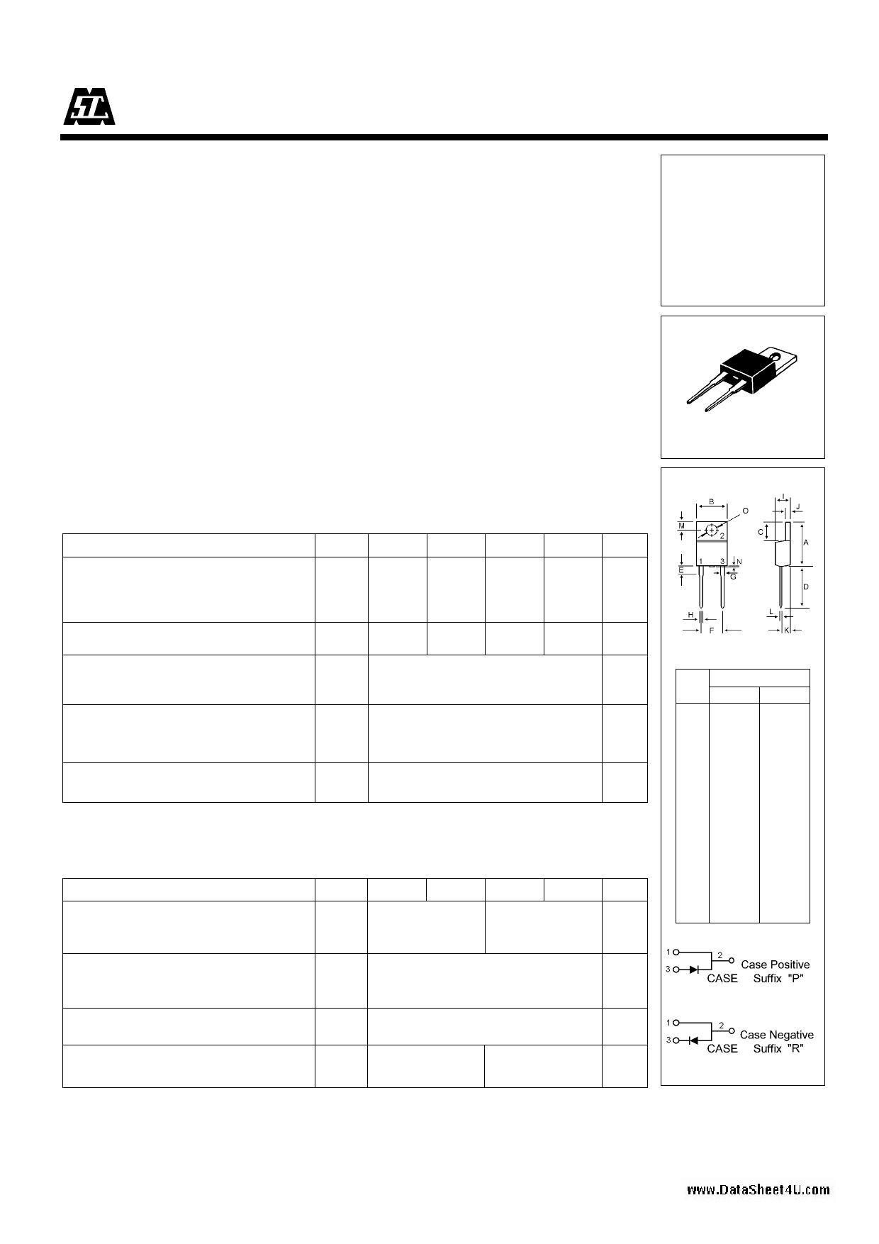 U05A60 datasheet