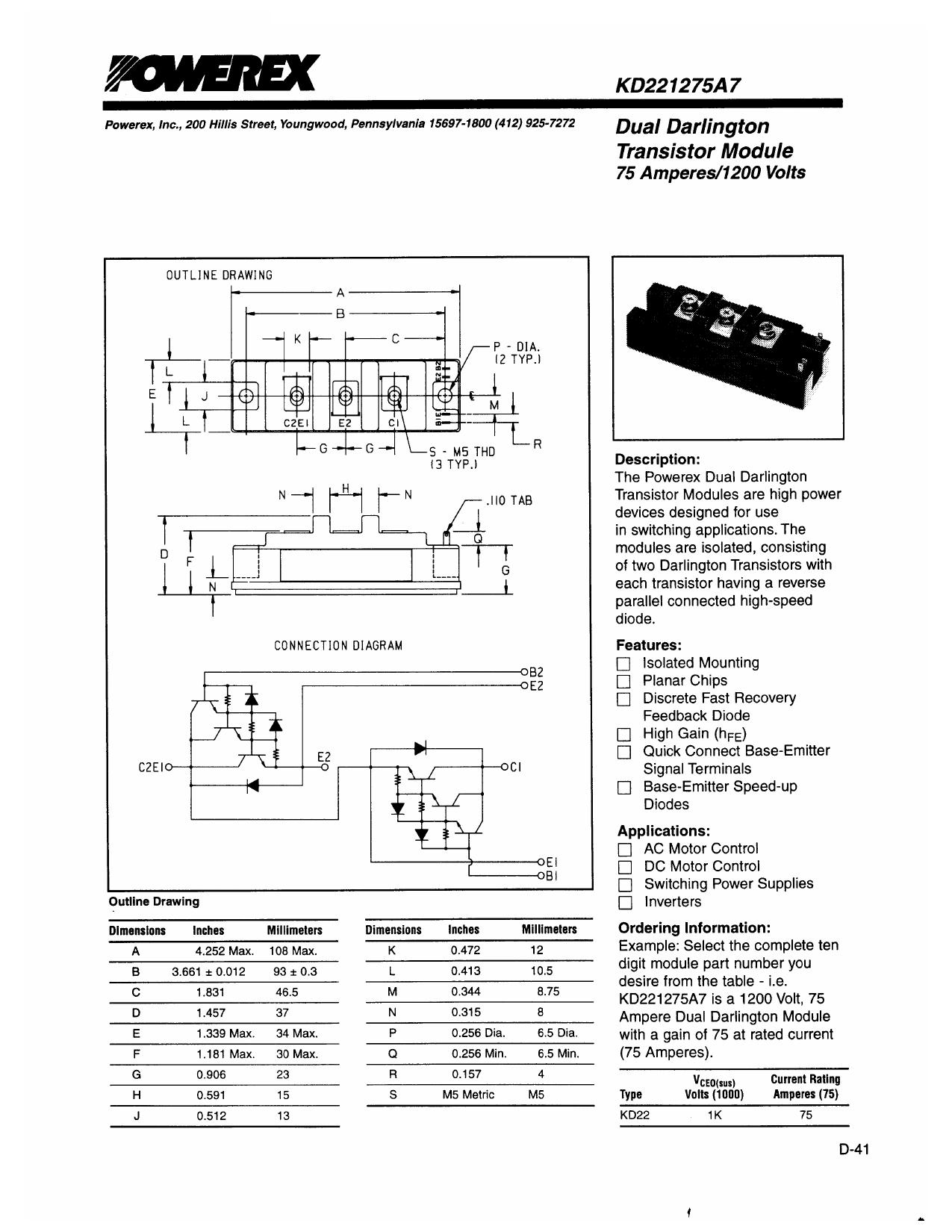 KD221275A7 دیتاشیت PDF
