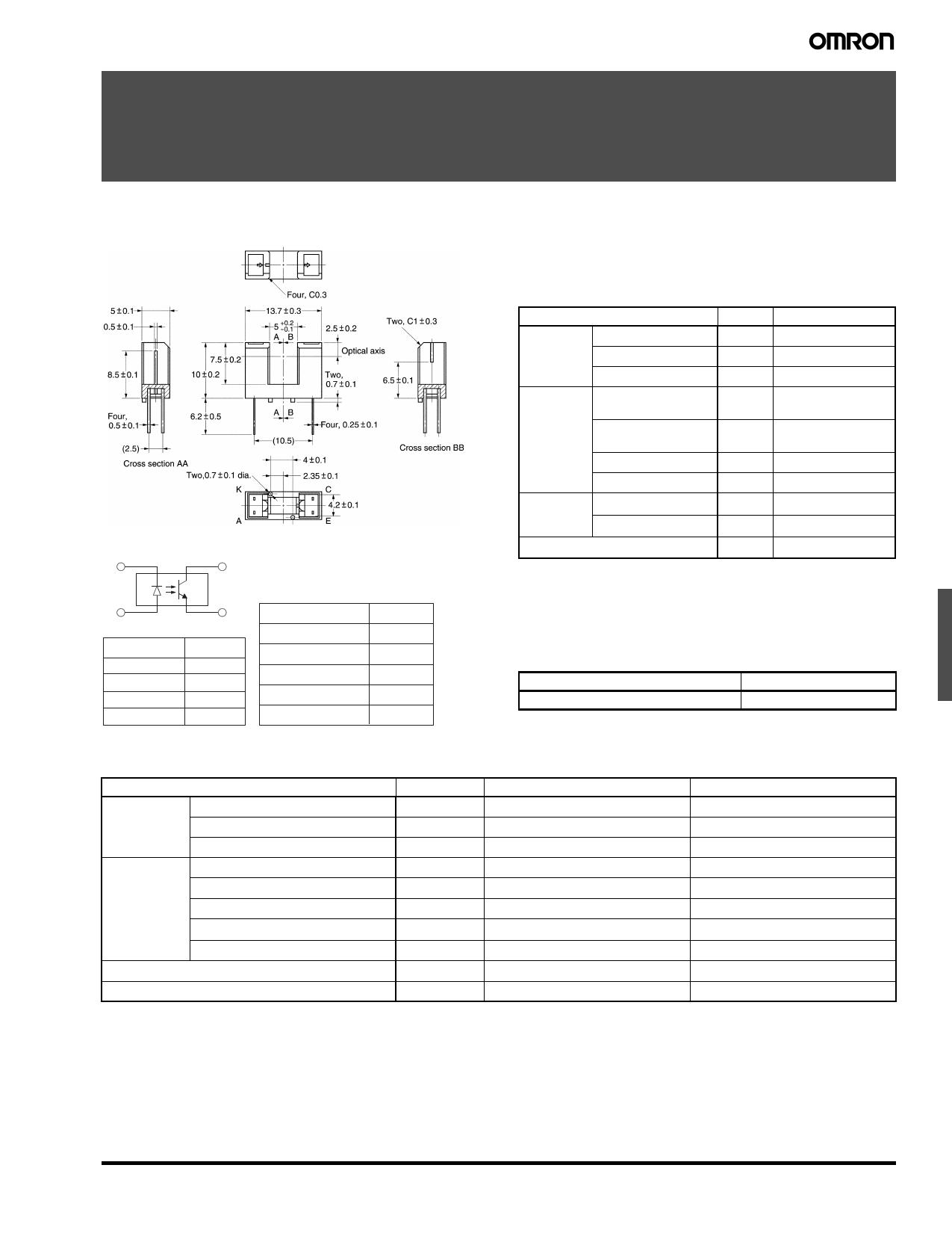 EE-SX1137 دیتاشیت PDF