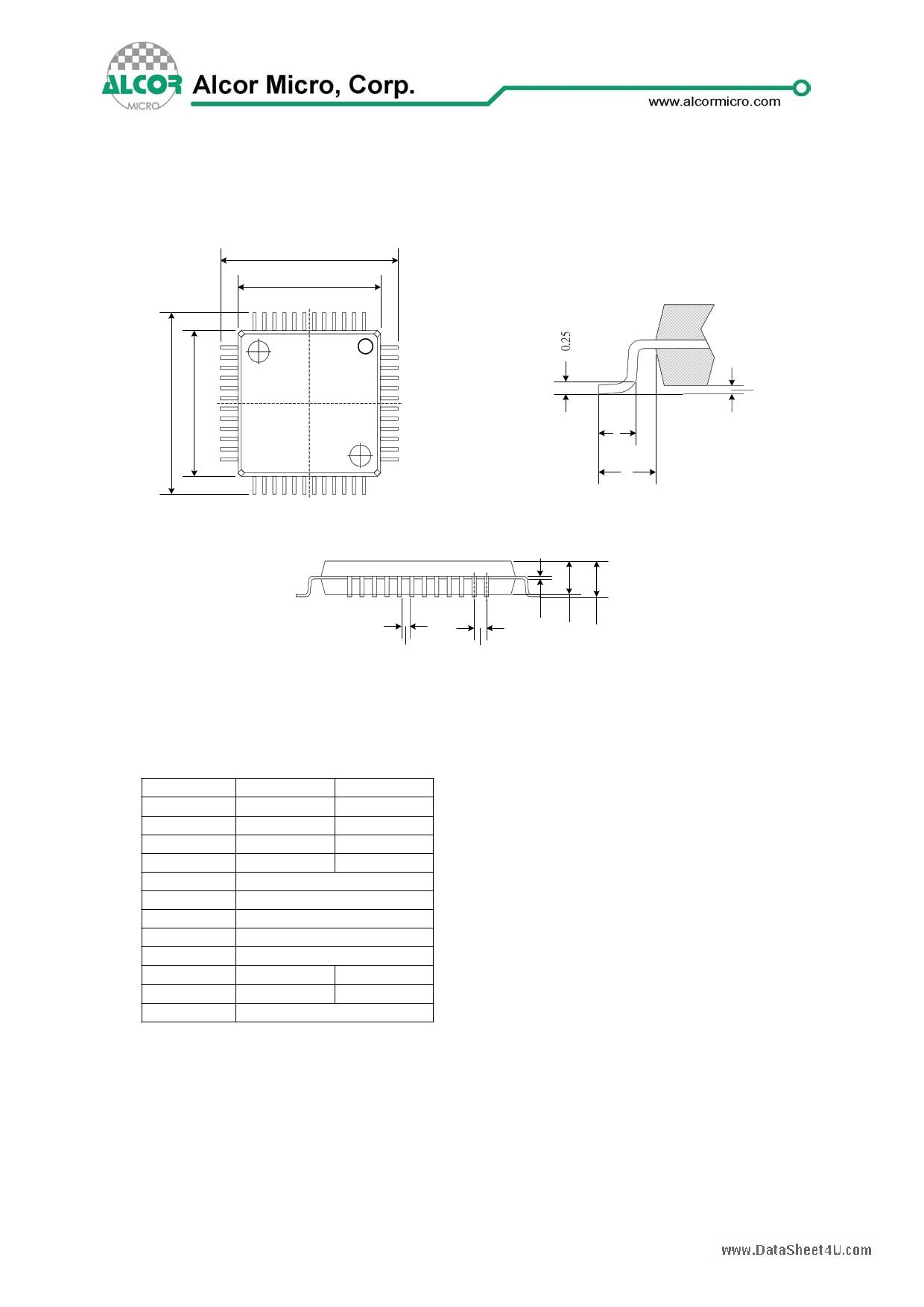 au9226 datasheet pdf   pinout