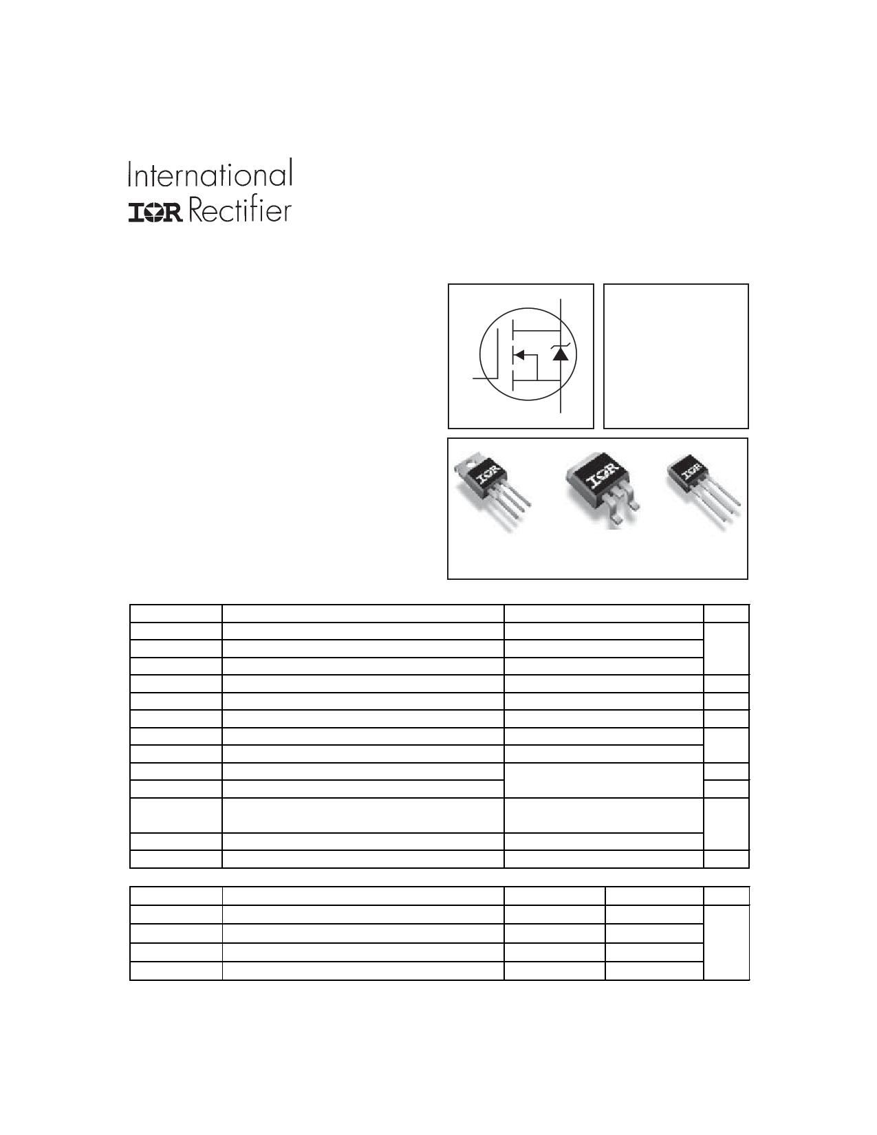 IRFZ44VZ Datasheet, IRFZ44VZ PDF,ピン配置, 機能