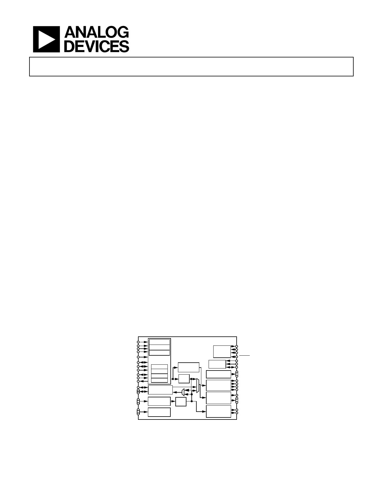 ADV7481 datasheet