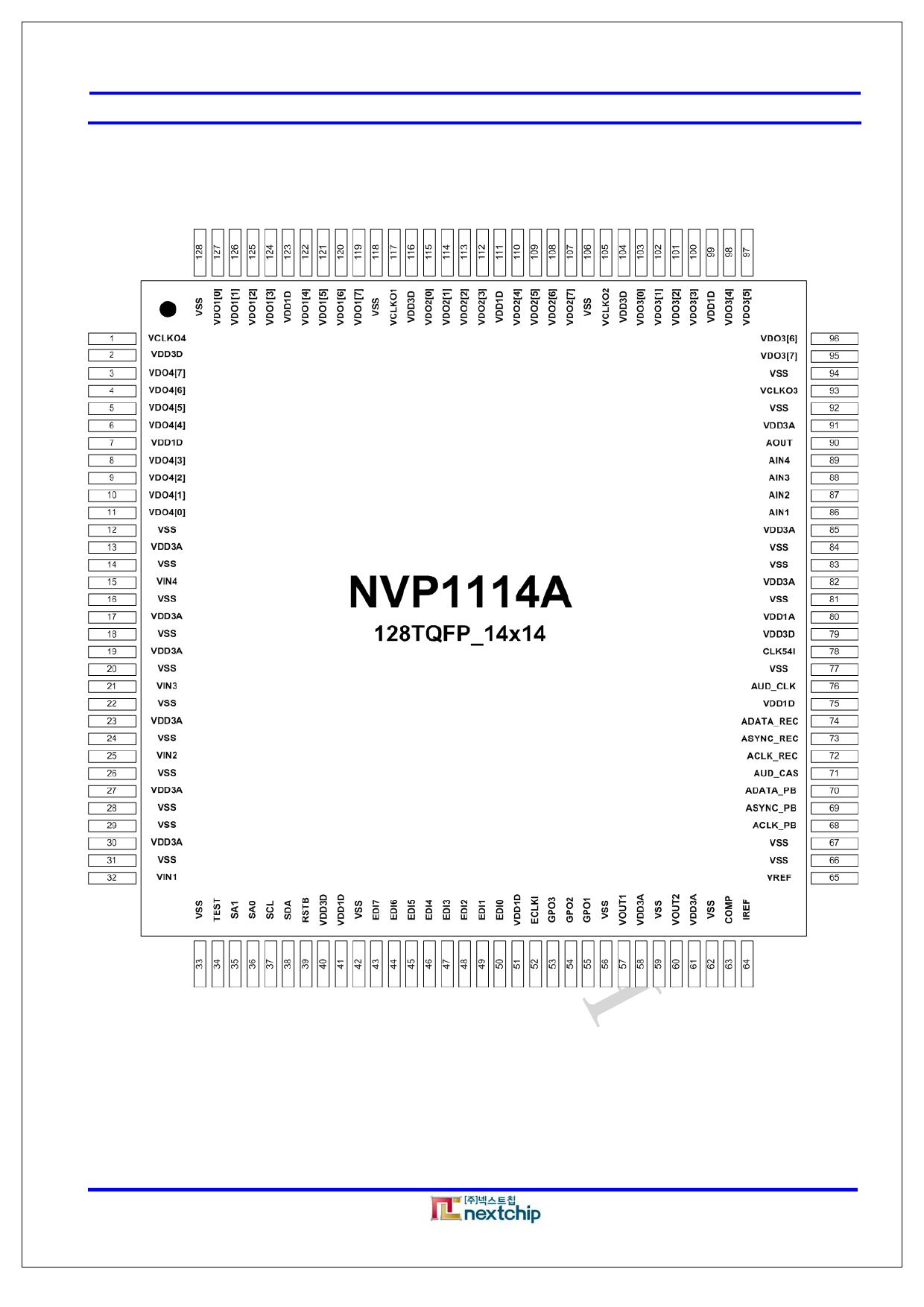 NVP1114A 電子部品, 半導体