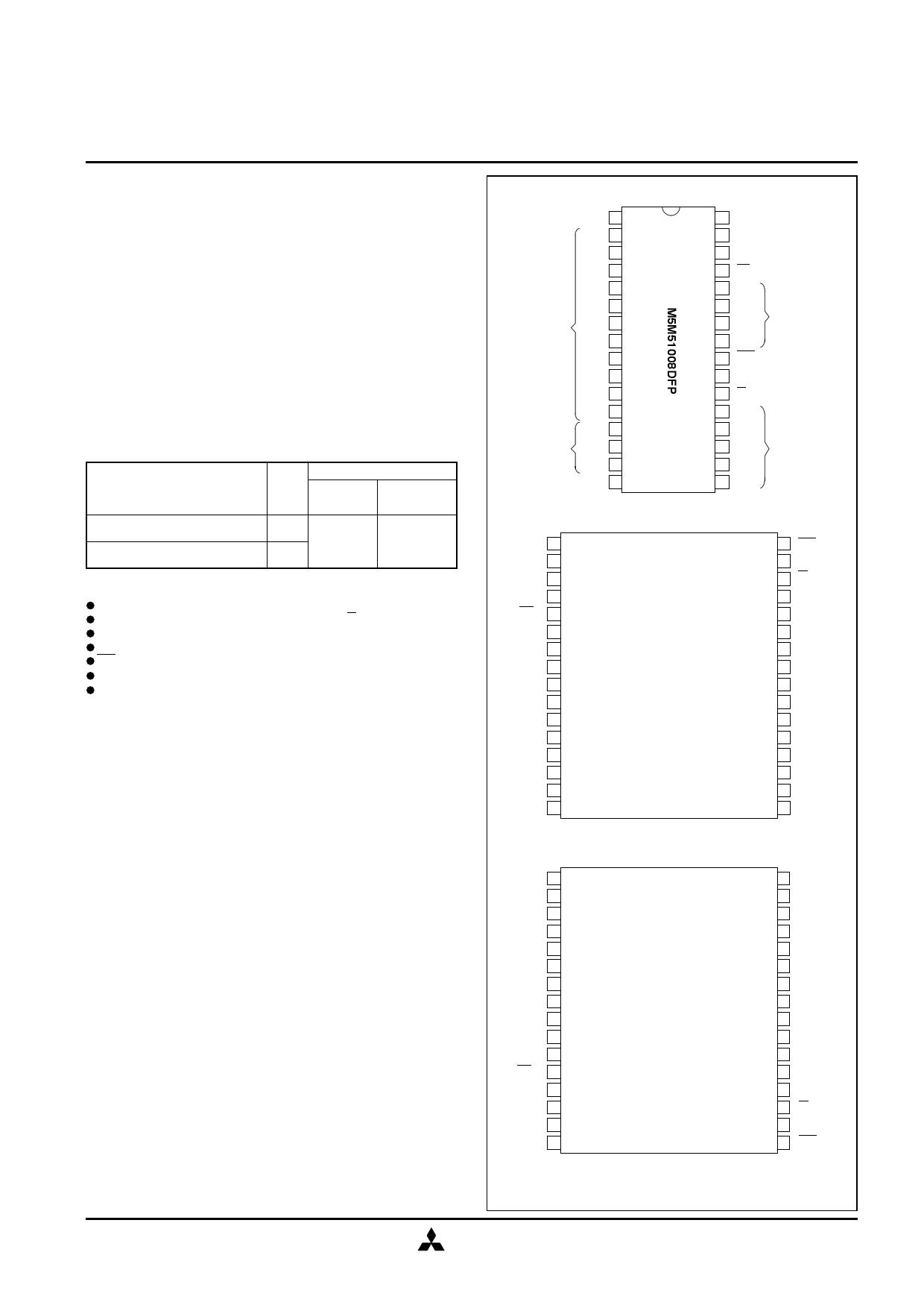 m5m51008dkr-70h datasheet pdf   pinout