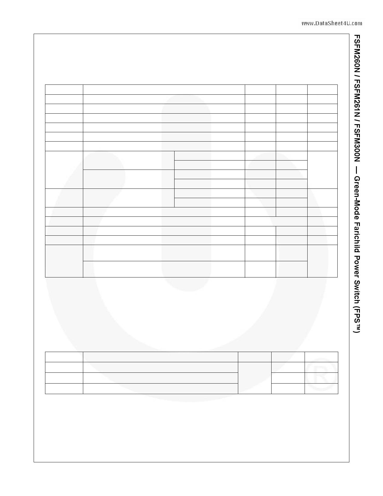 FSFM261N pdf