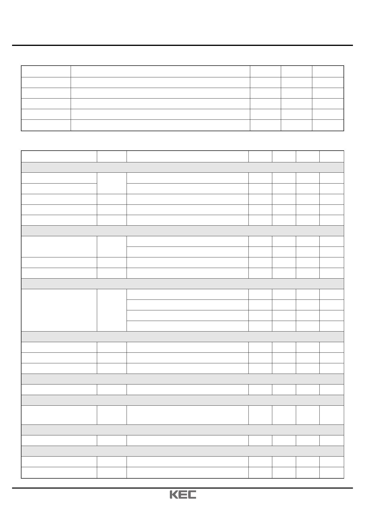 KIC6961T pdf, ピン配列