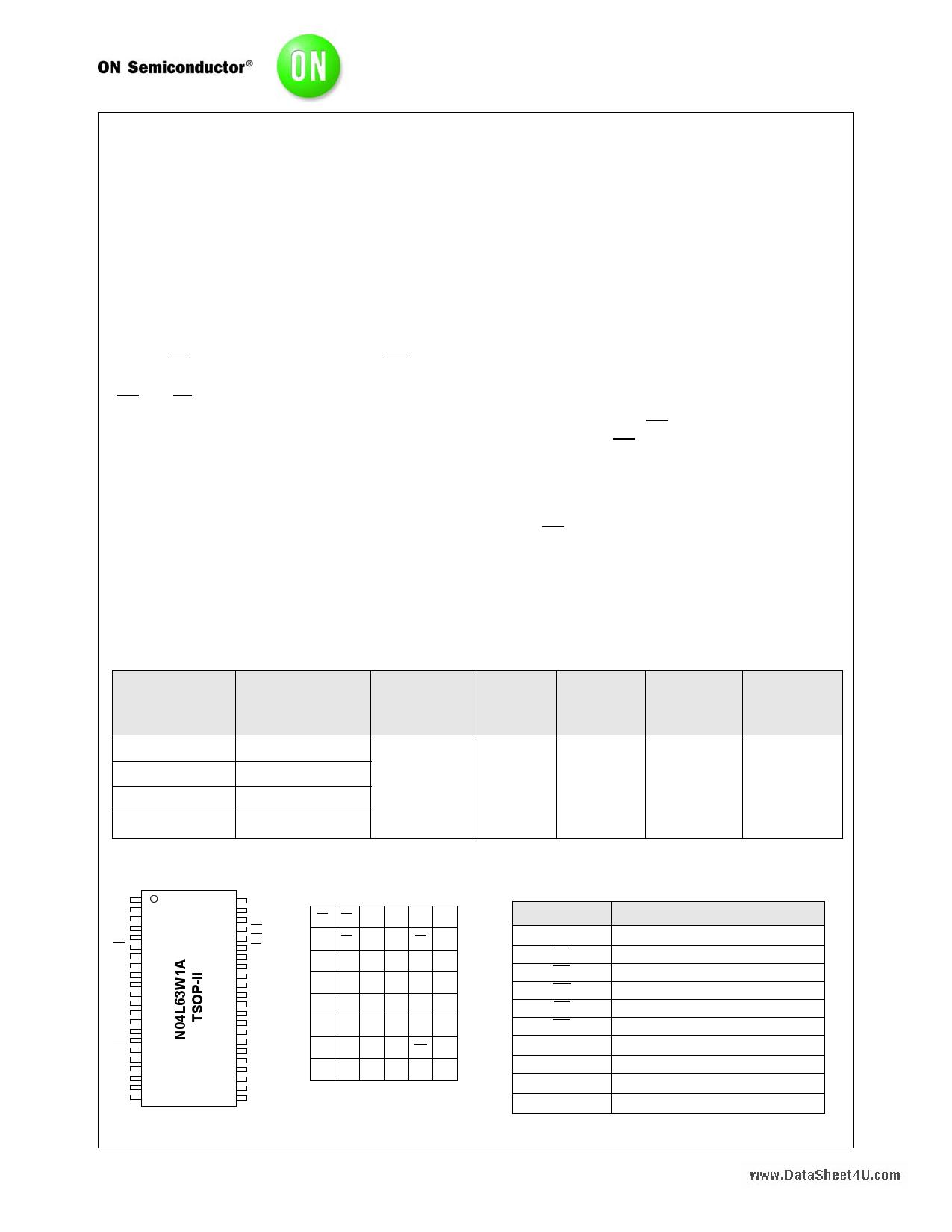 N04L63W1A دیتاشیت PDF