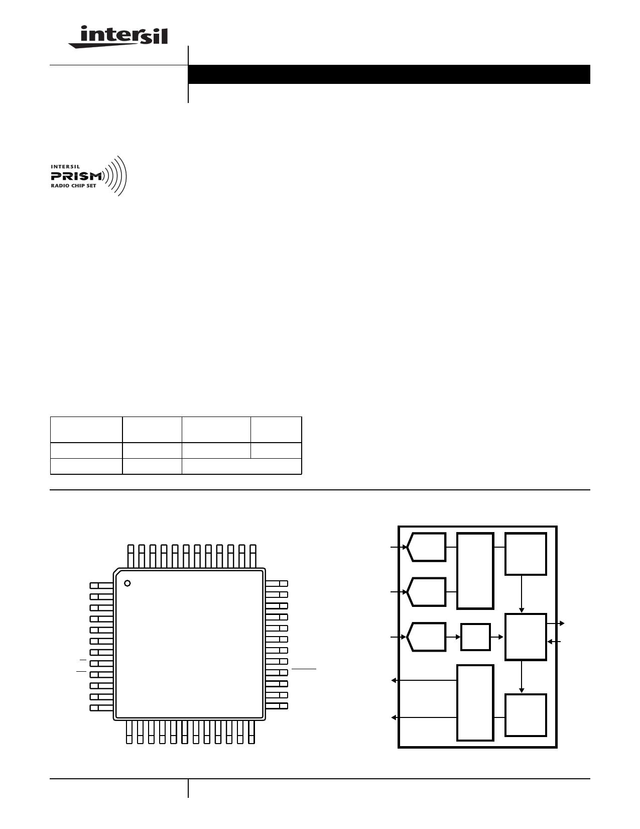 HFA3824AIV96 دیتاشیت PDF