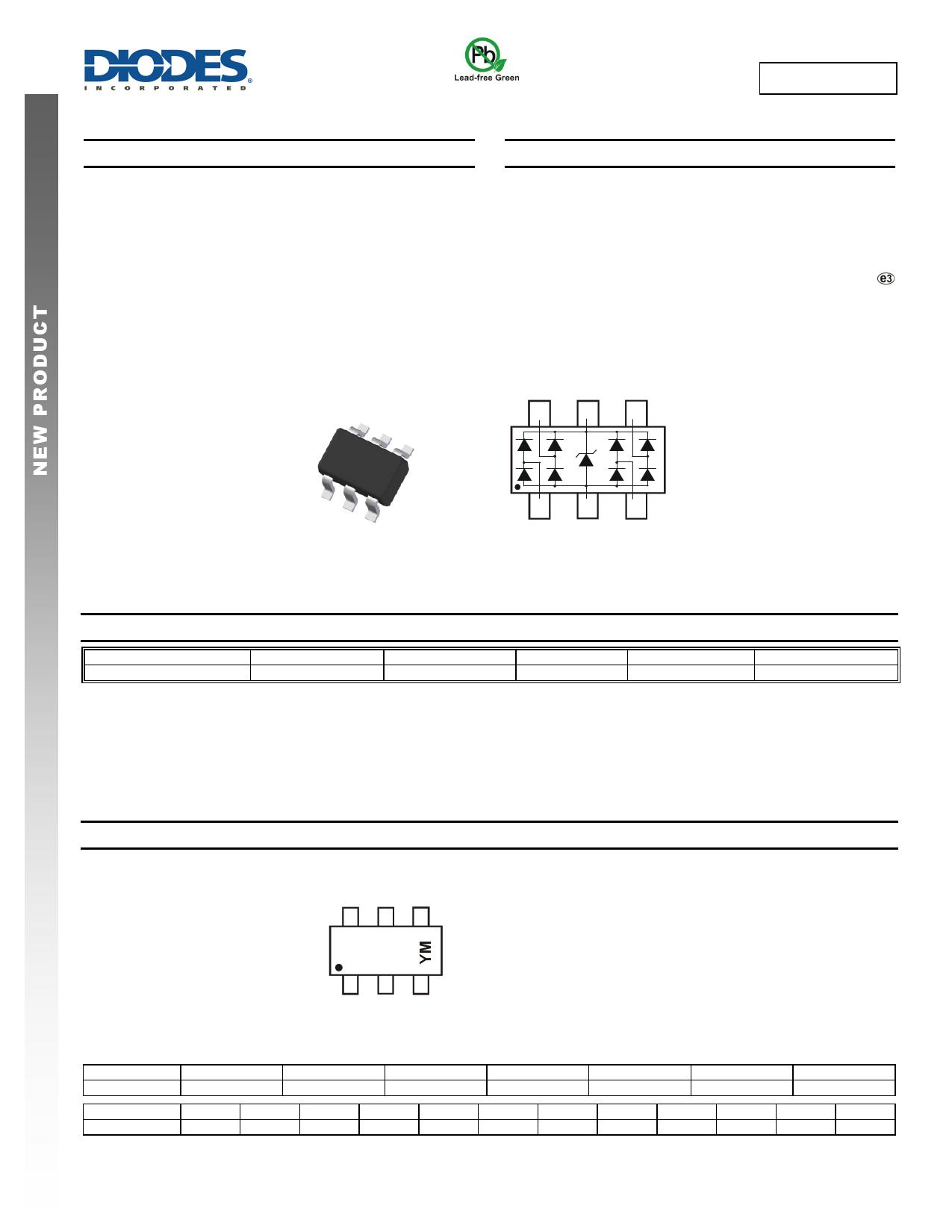 D3V3F4U6S Datasheet, D3V3F4U6S PDF,ピン配置, 機能