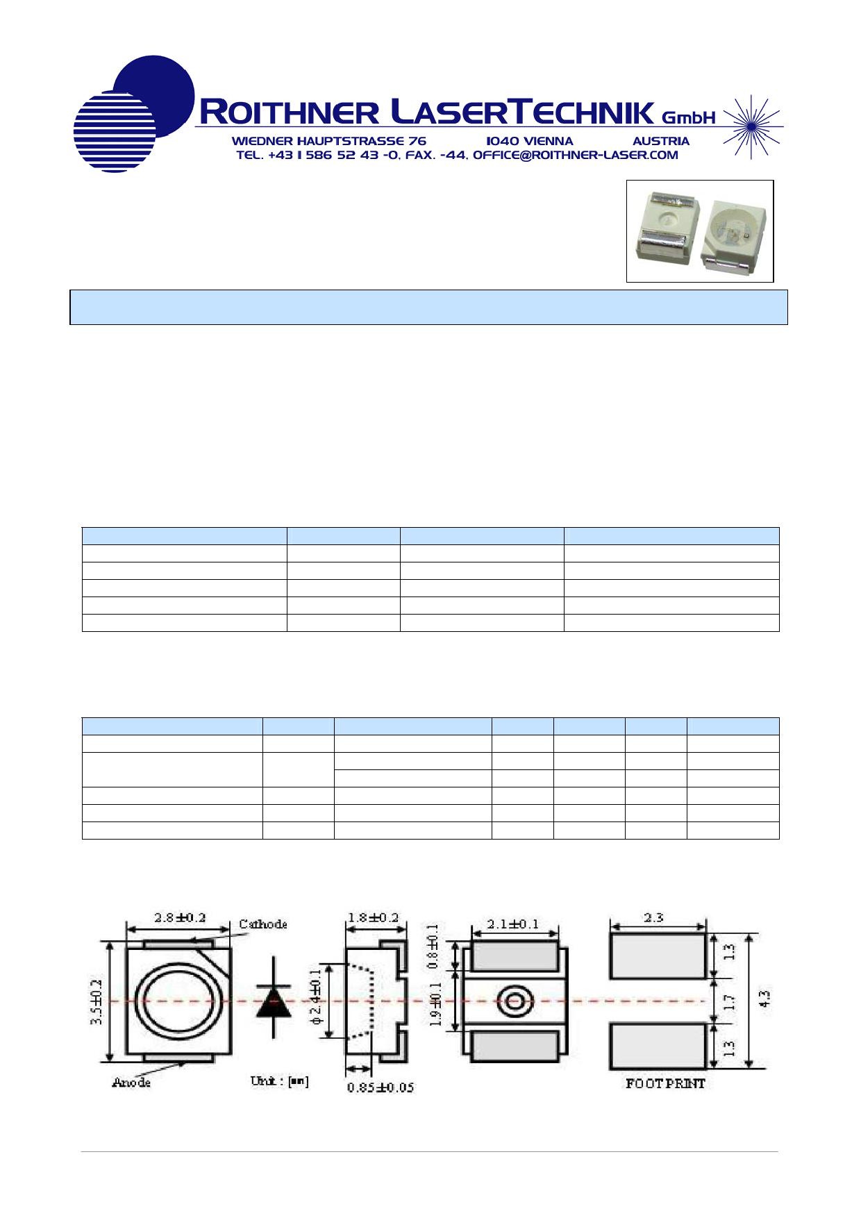 GUVA-S12SD Даташит, Описание, Даташиты