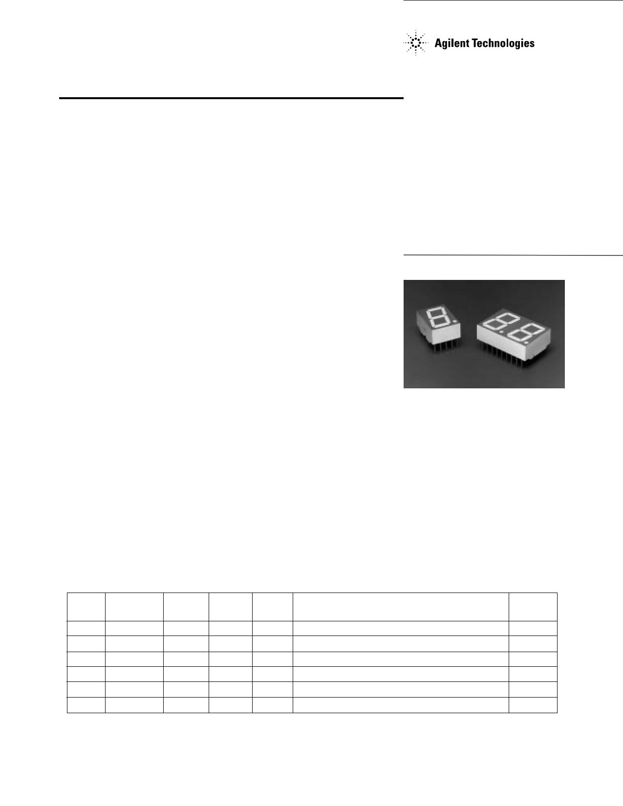 HDSP-H157 دیتاشیت PDF