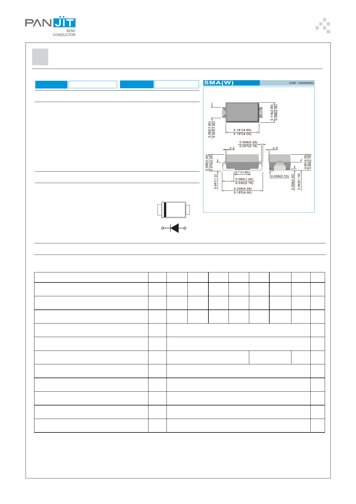 ES1AWG دیتاشیت PDF