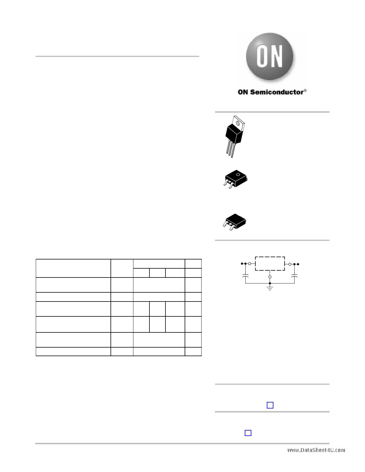 7805BT دیتاشیت PDF