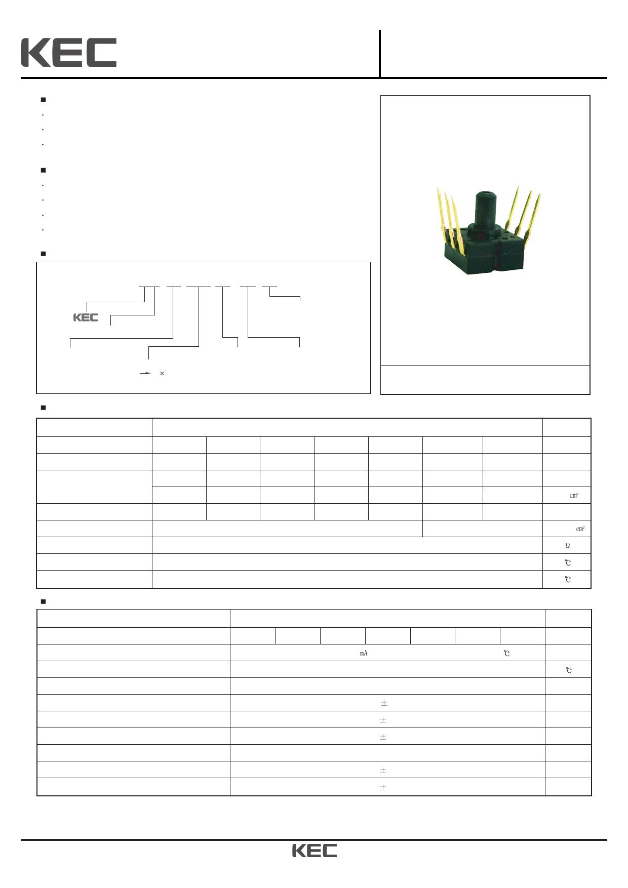 KPF801G02 데이터시트 및 KPF801G02 PDF