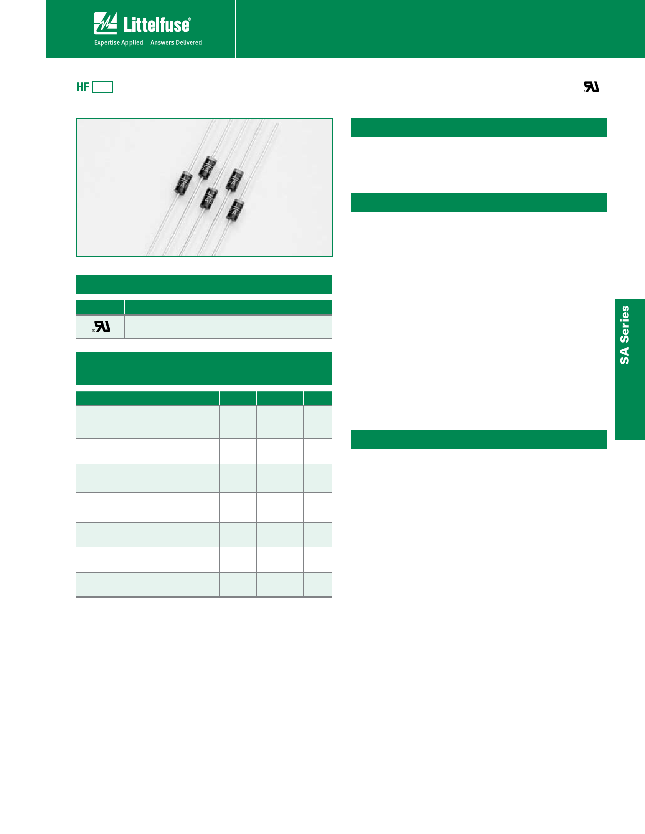SA20CA دیتاشیت PDF