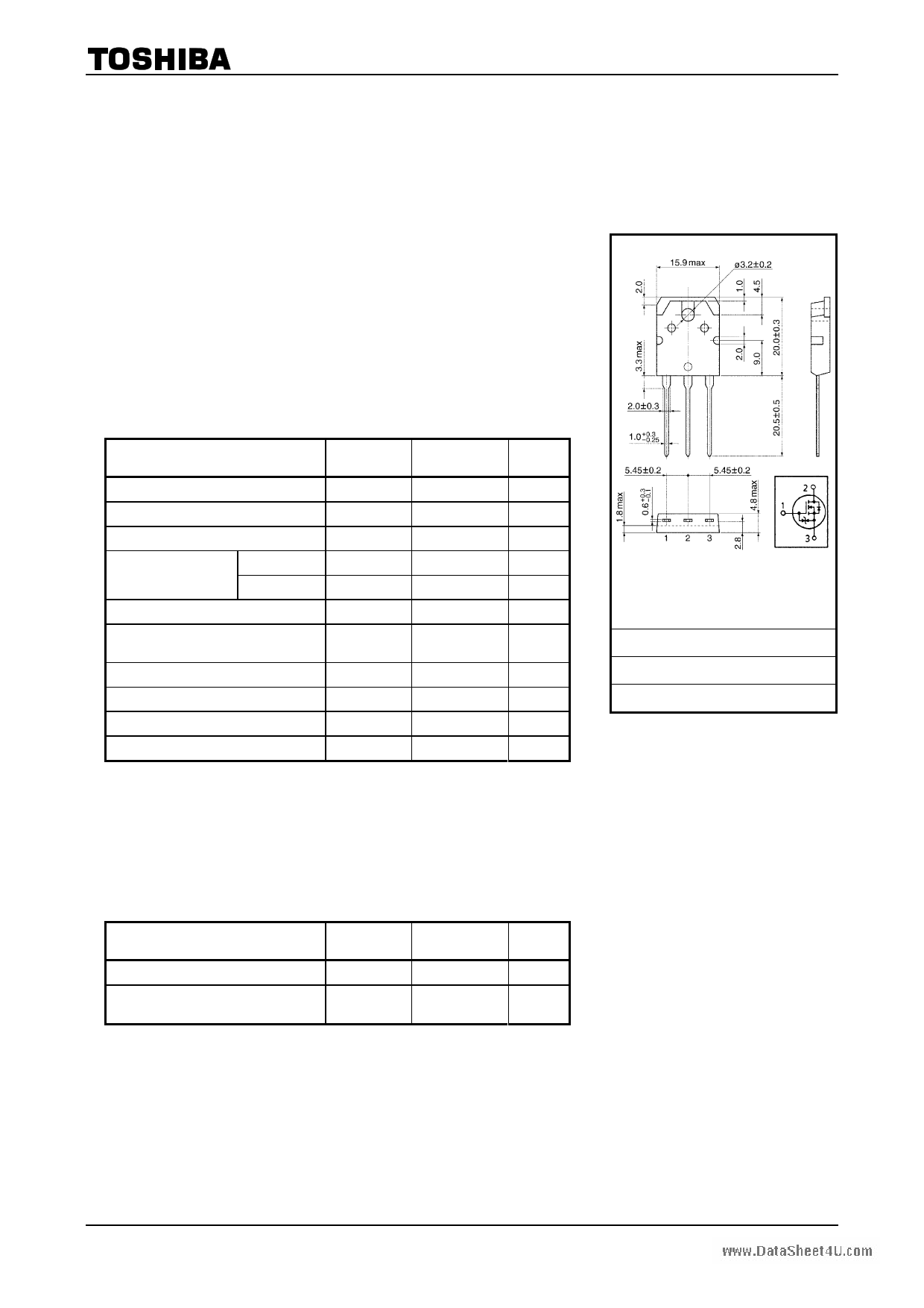 K2698 datasheet image