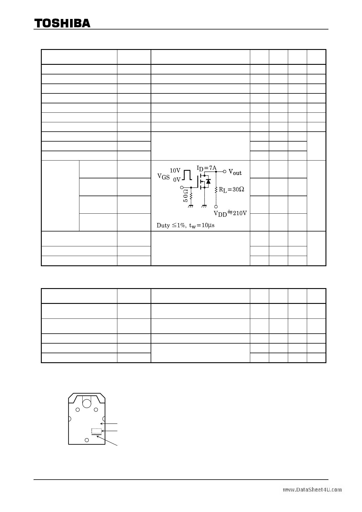 K2698 pdf pinout