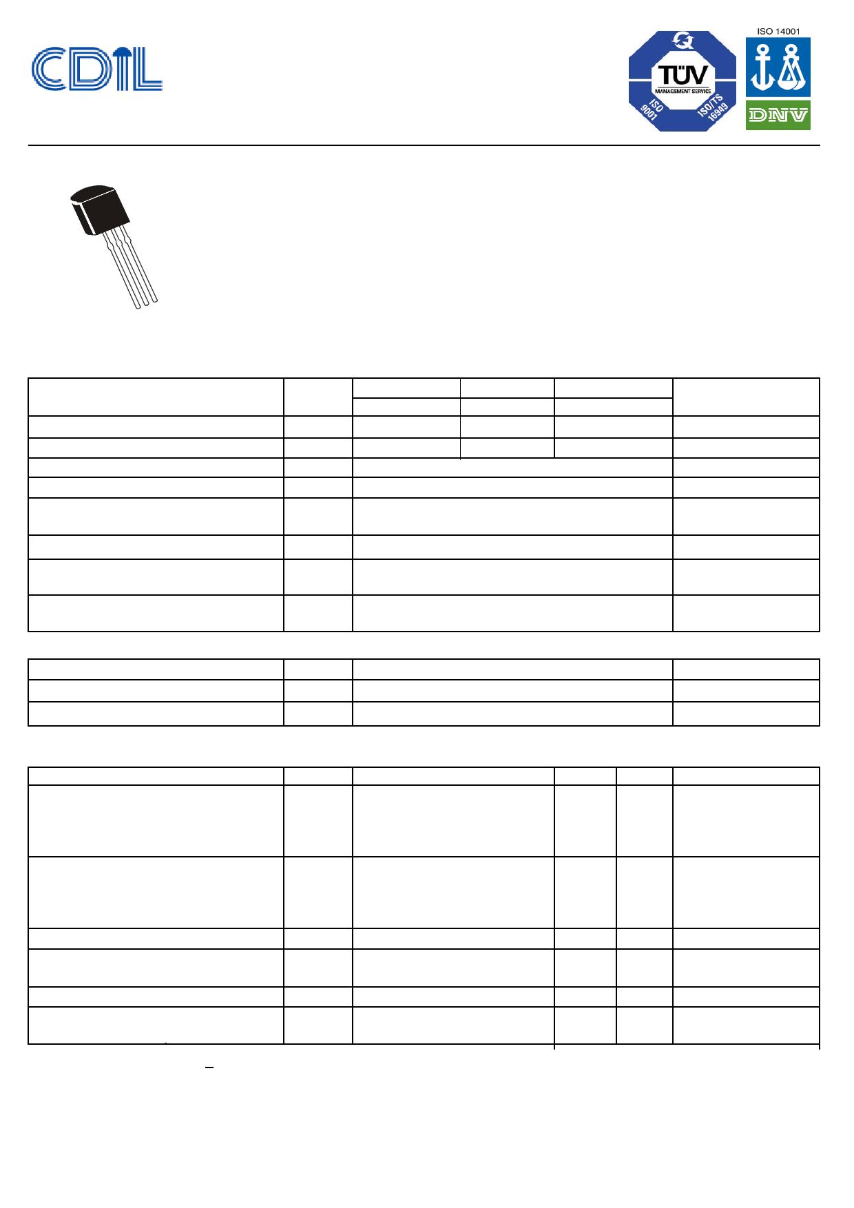 BC637 데이터시트 및 BC637 PDF