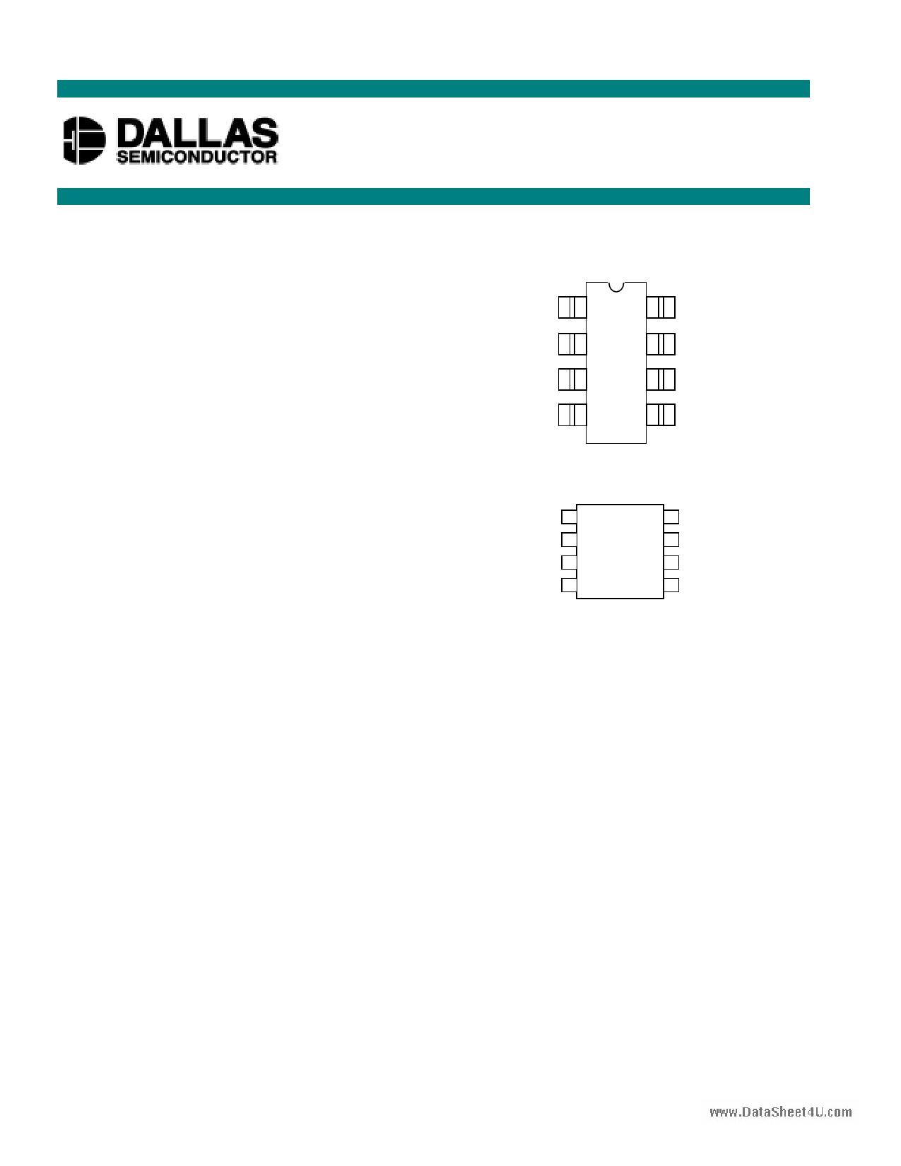 DS1669 Datasheet, DS1669 PDF,ピン配置, 機能
