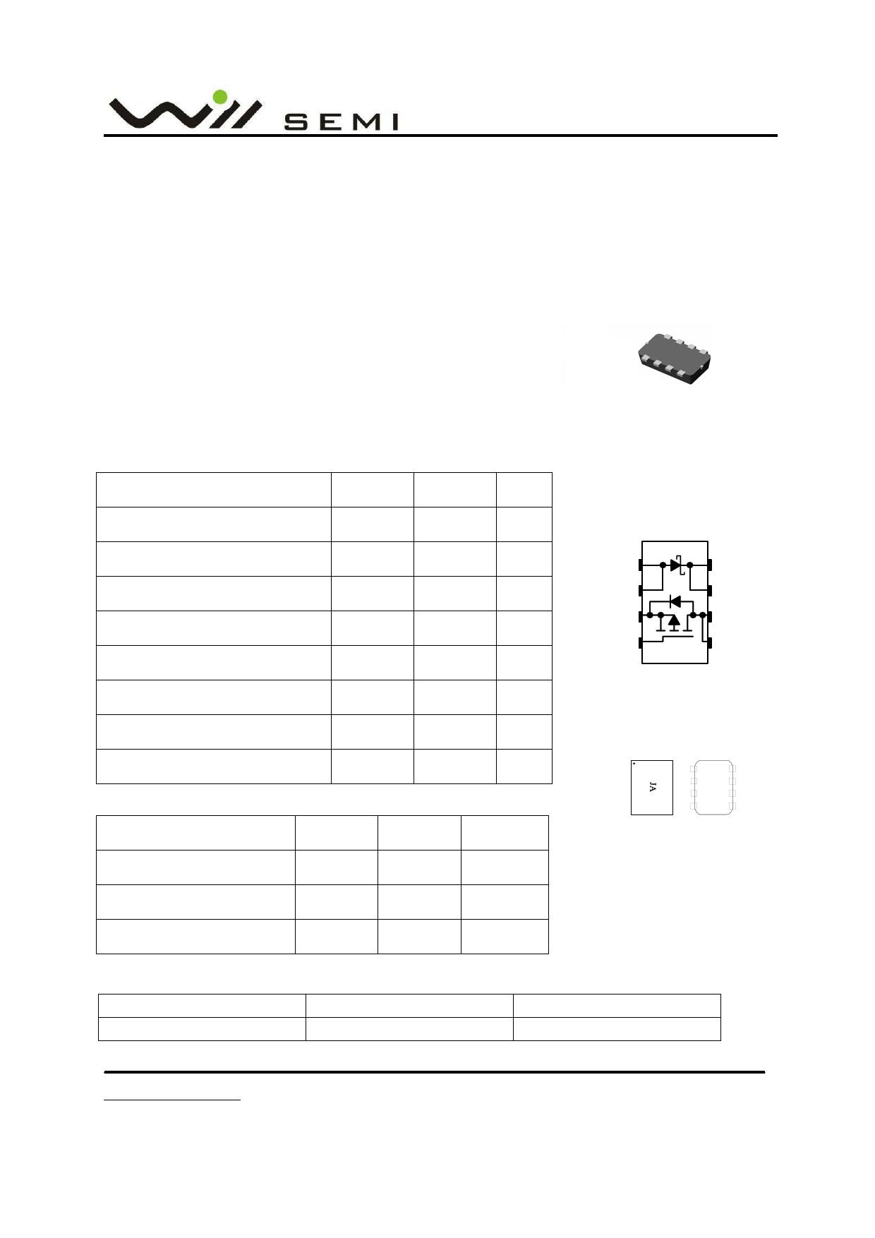 WPM2005B datasheet
