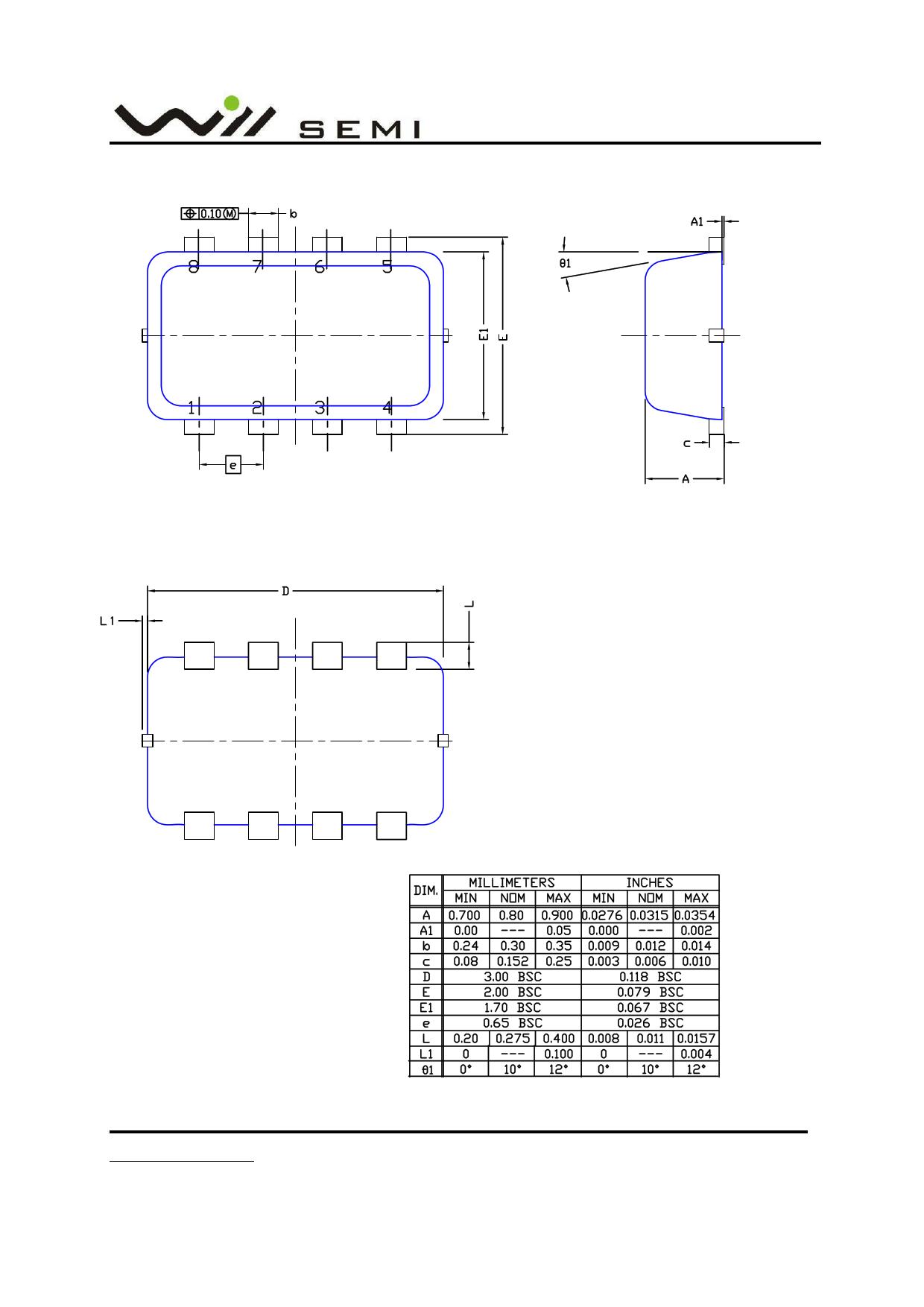 WPM2005B Datasheet, Funktion