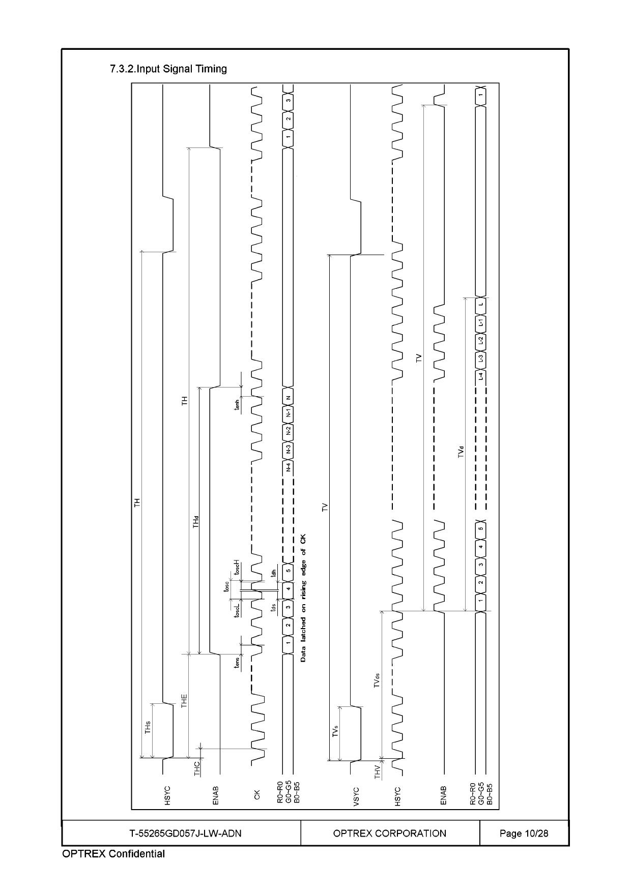 T-55265GD057J-LW-ADN arduino