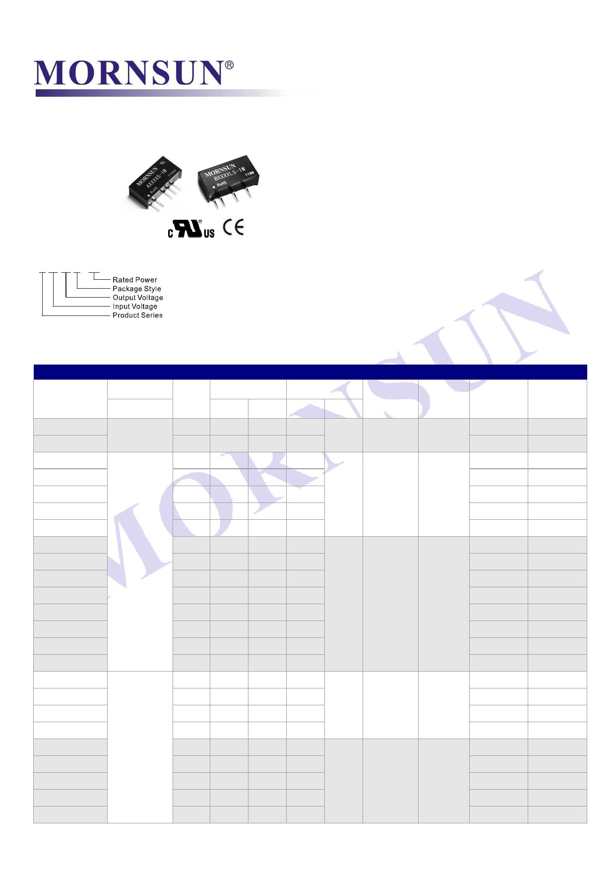 B0303LS-1W даташит PDF