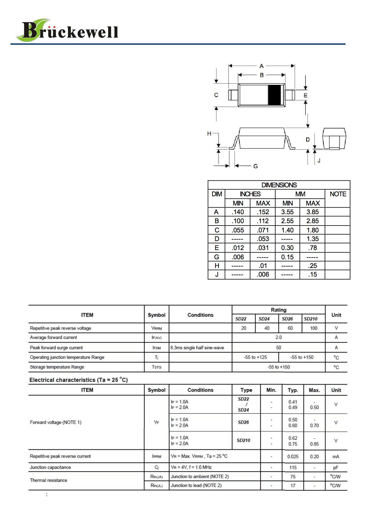 SD22 دیتاشیت PDF