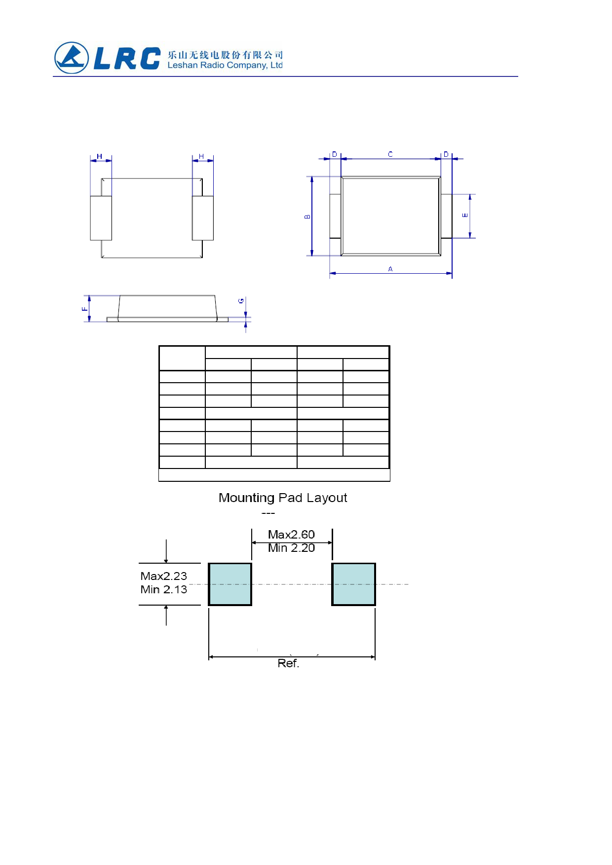 LUMBF220 pdf, ピン配列