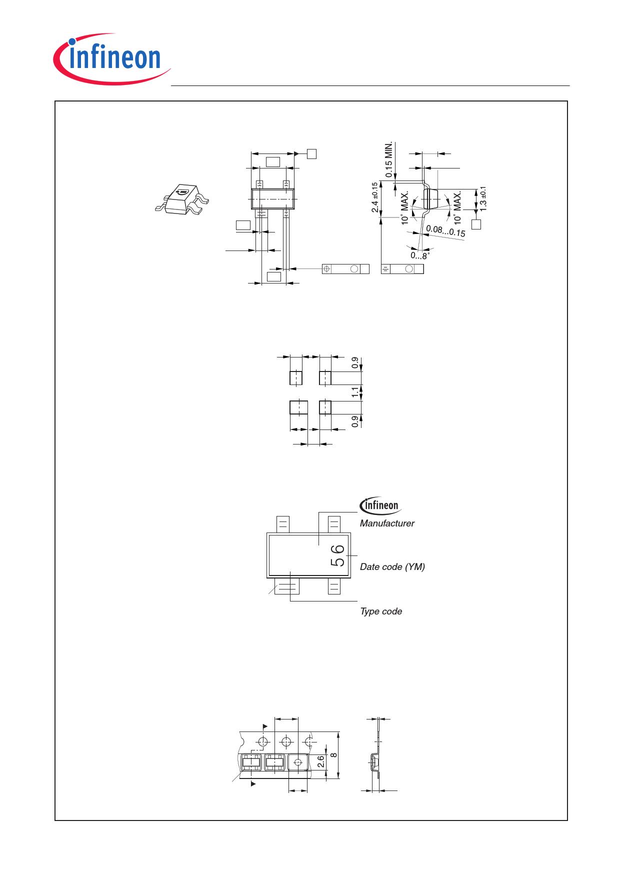 BCV61 電子部品, 半導体