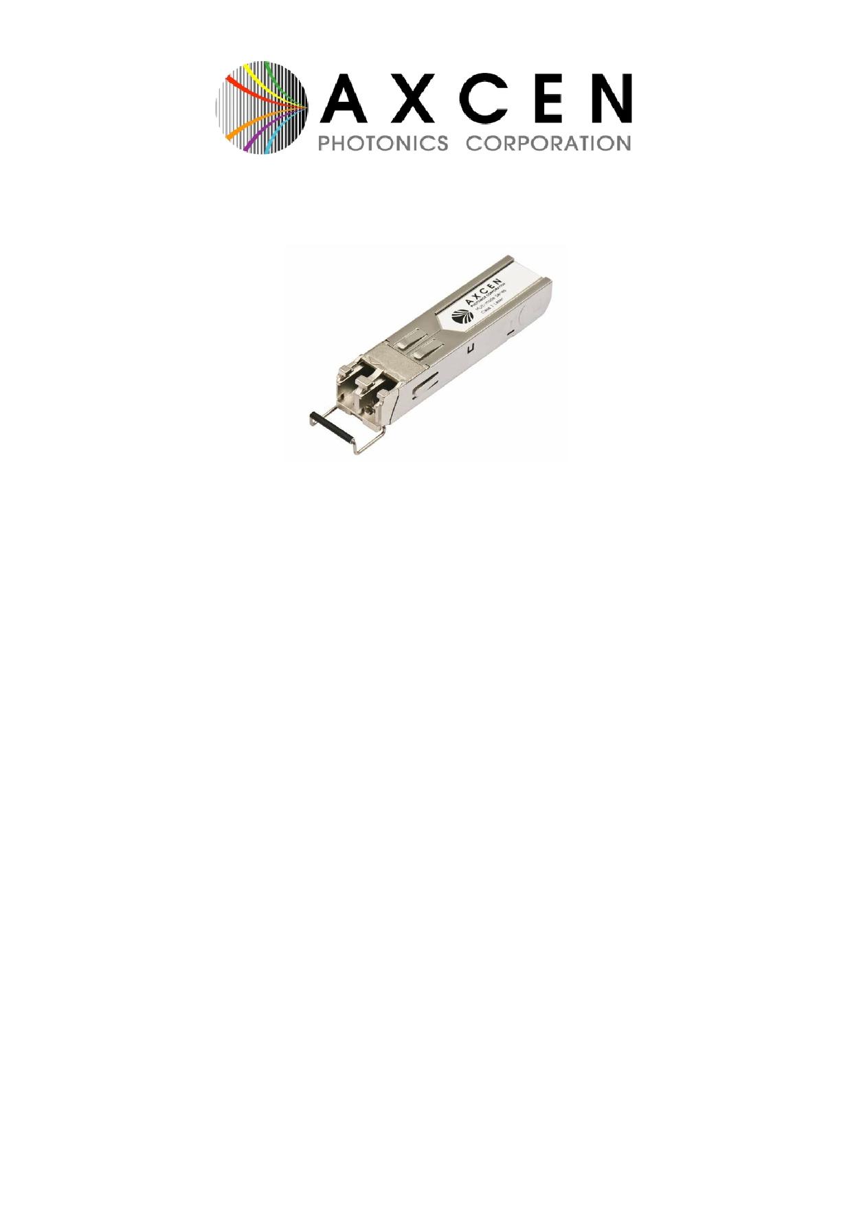 AXGE-5854 Даташит, Описание, Даташиты