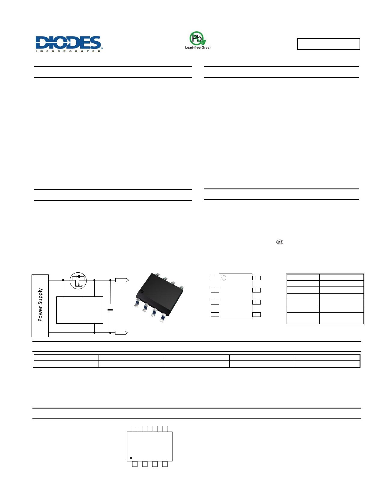 ZXGD3111N8TC datasheet