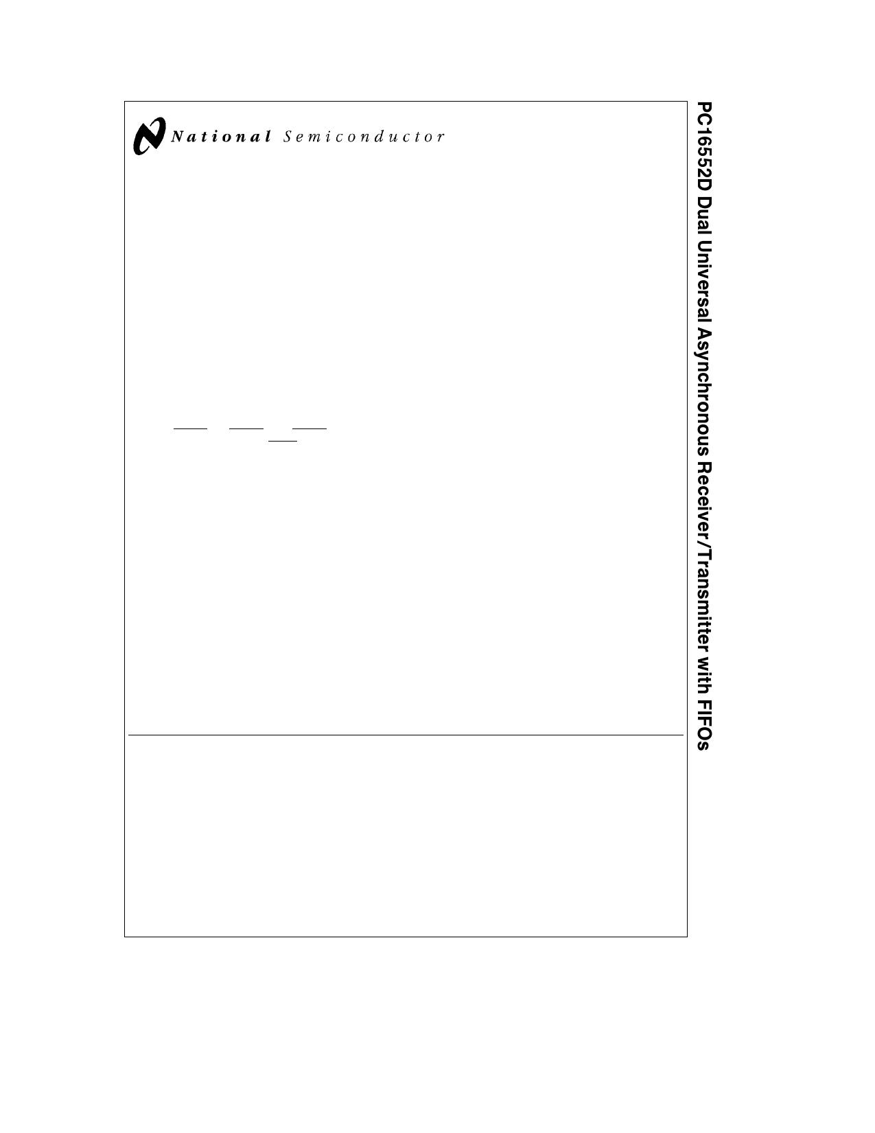PC16552DV datasheet
