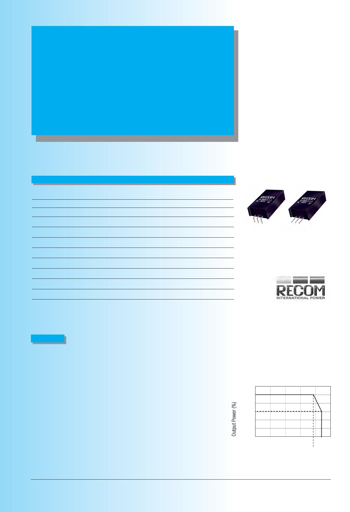 R-78Bxx-1.0L datasheet