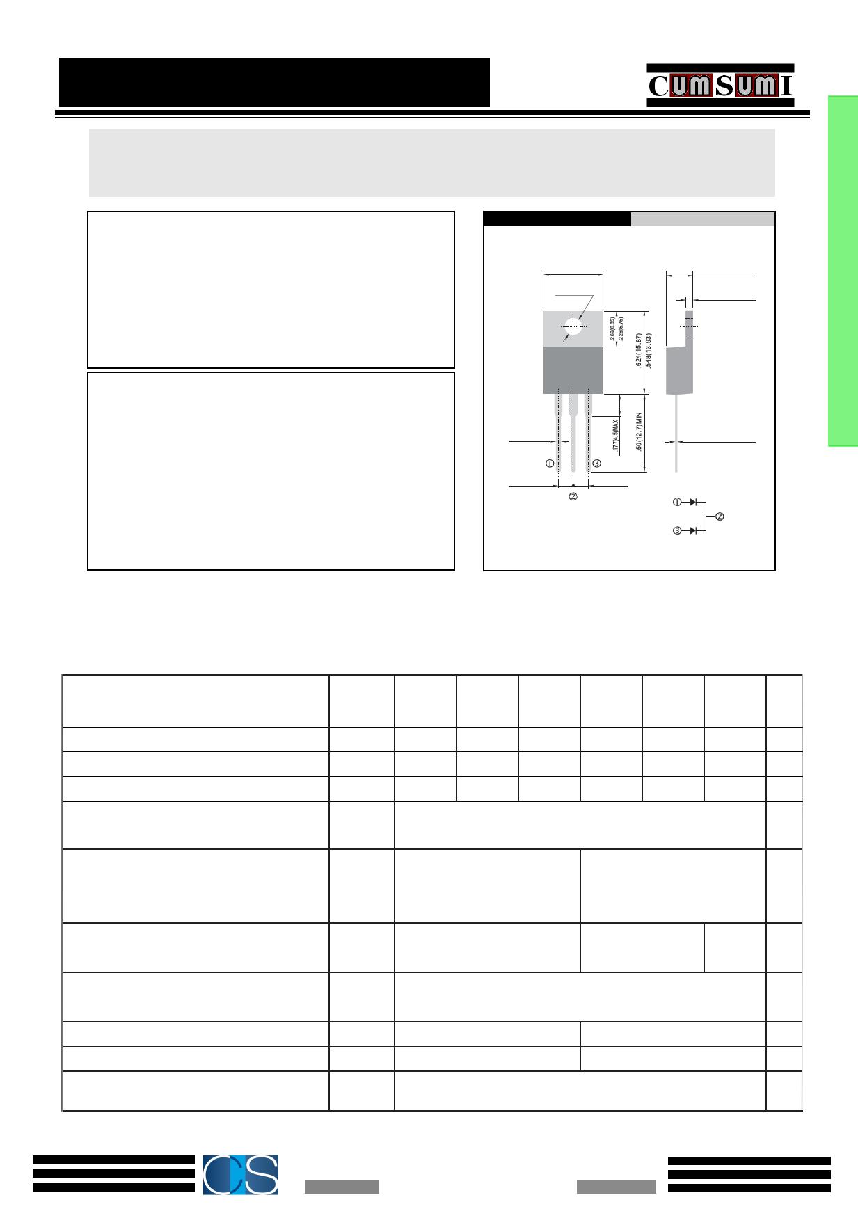 UF2010CT datasheet