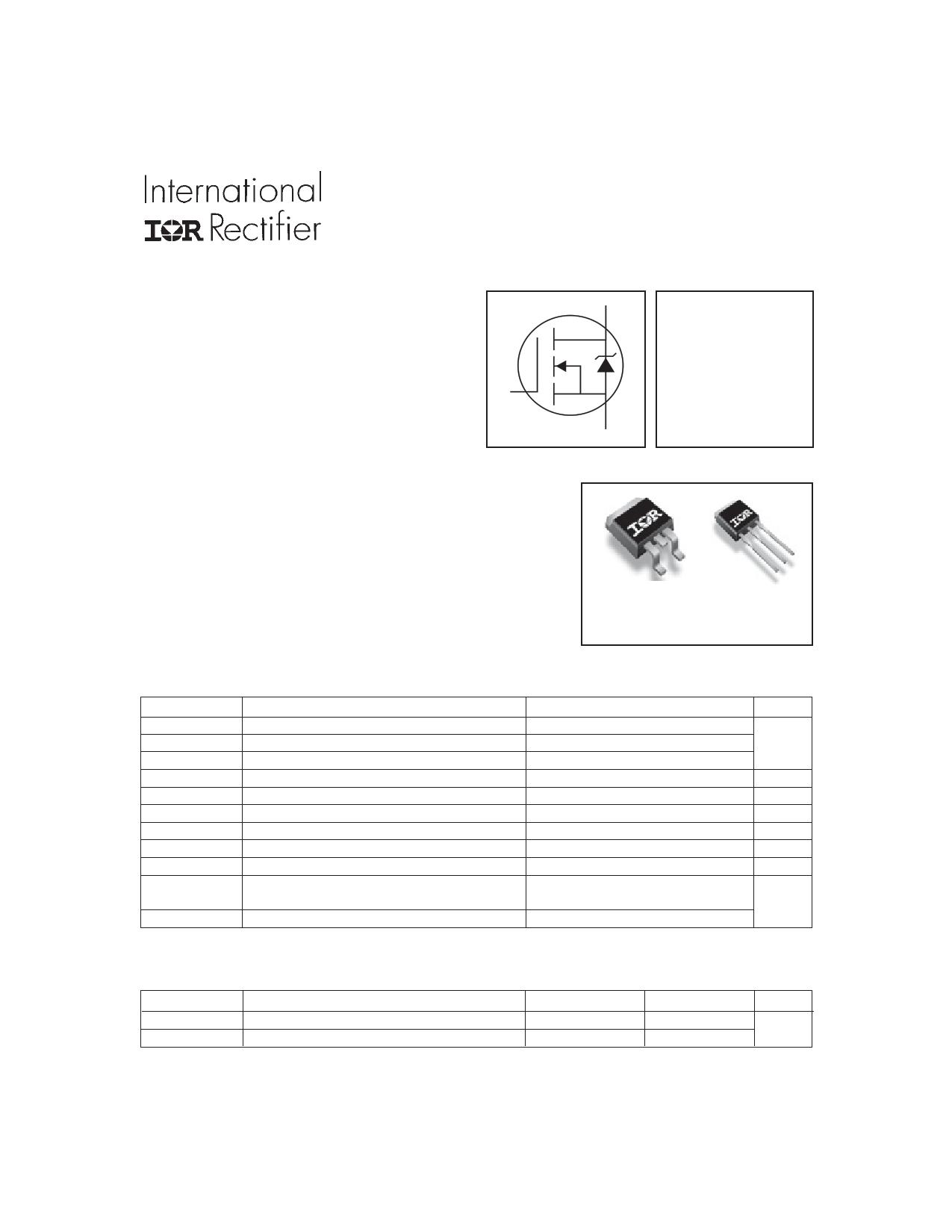 IRFZ34VSPBF Datasheet, IRFZ34VSPBF PDF,ピン配置, 機能