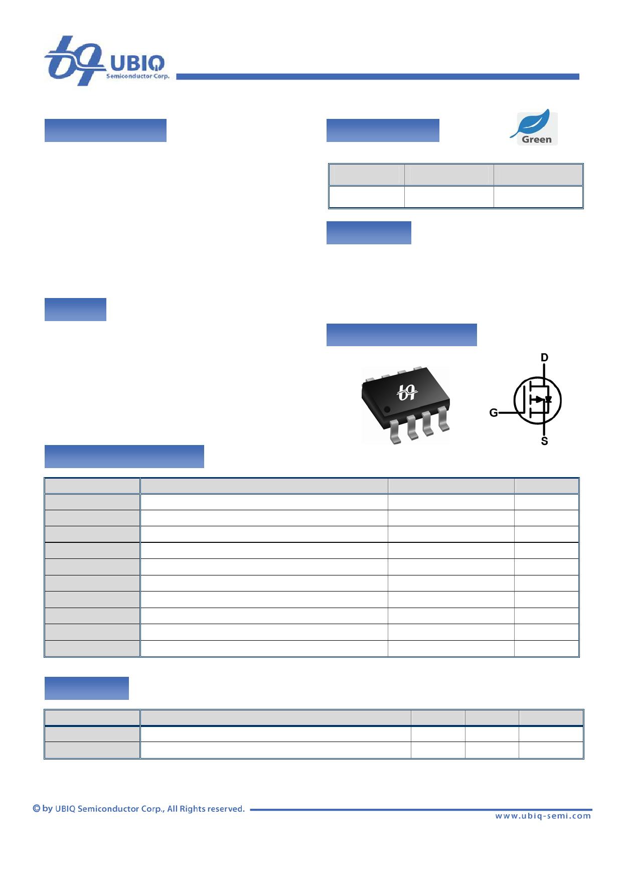 QM4001S 데이터시트 및 QM4001S PDF