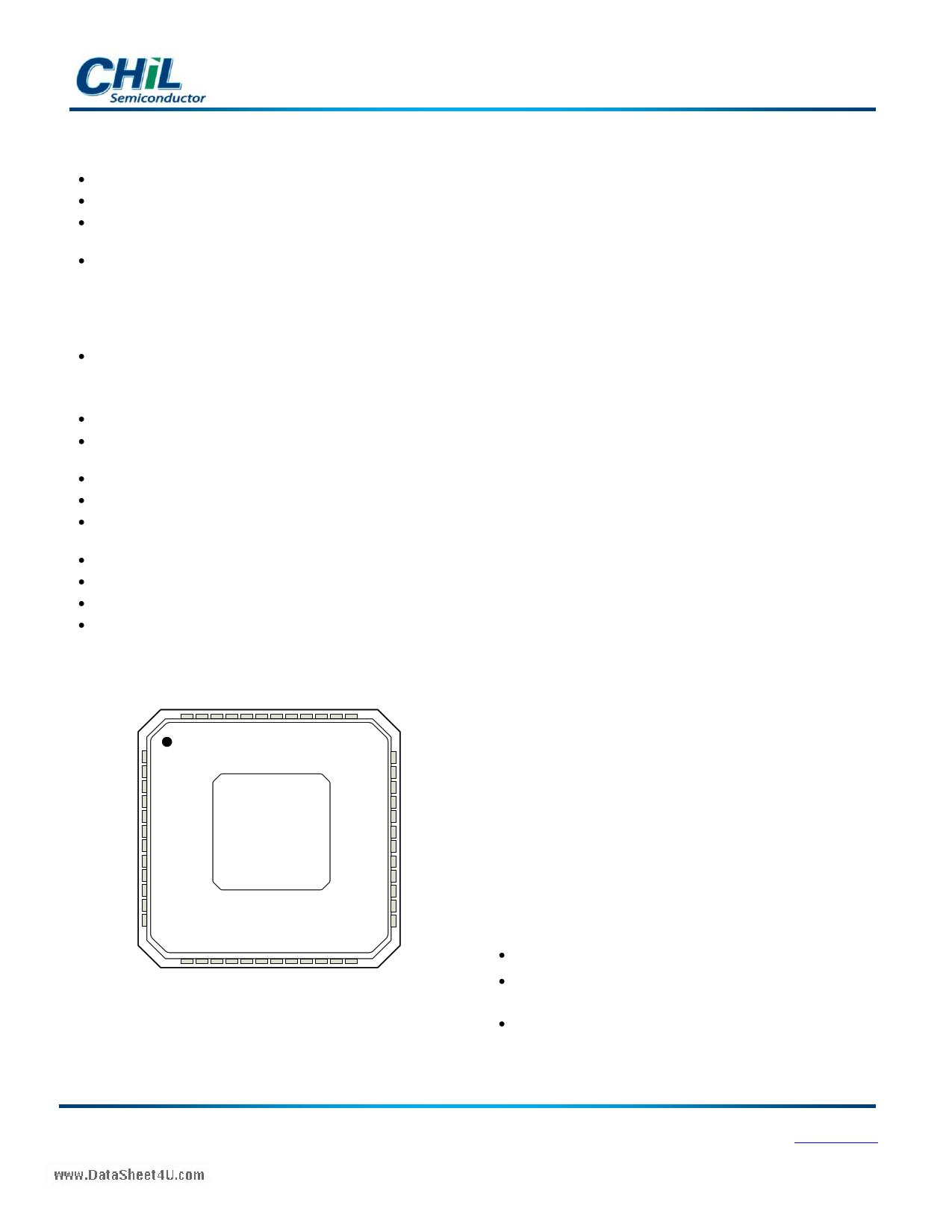 CHL8314 دیتاشیت PDF