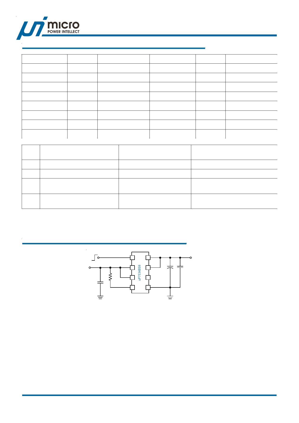 Up7534 (unitpower) pdf技术资料下载up7534 供应信息ic datasheet 数据.