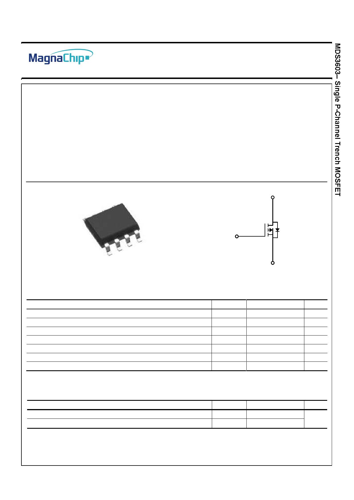 MDS3603 Datasheet, MDS3603 PDF,ピン配置, 機能