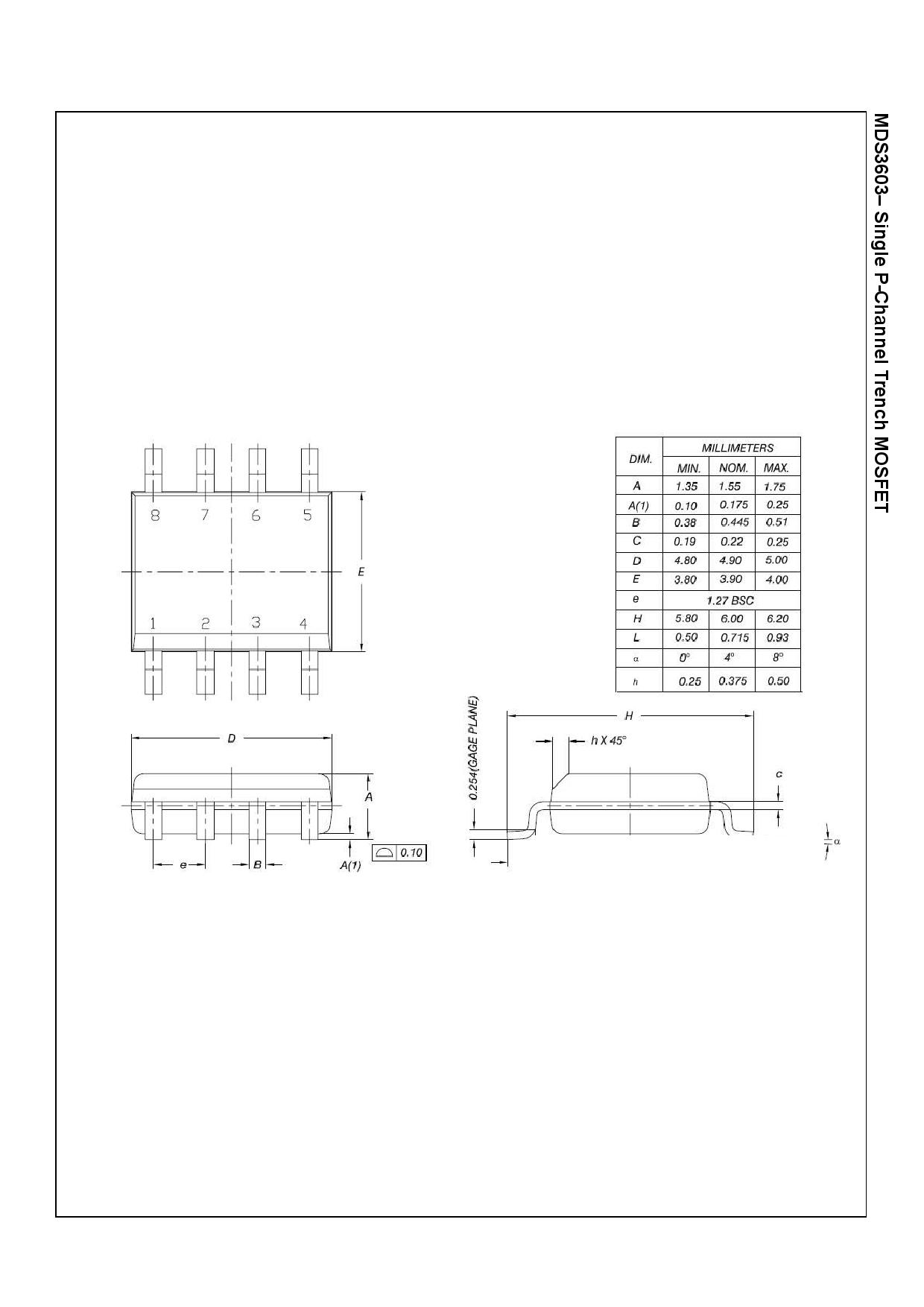 MDS3603 電子部品, 半導体