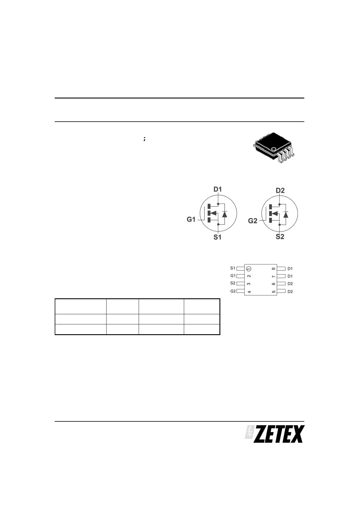 ZXMN3A06DN8 دیتاشیت PDF