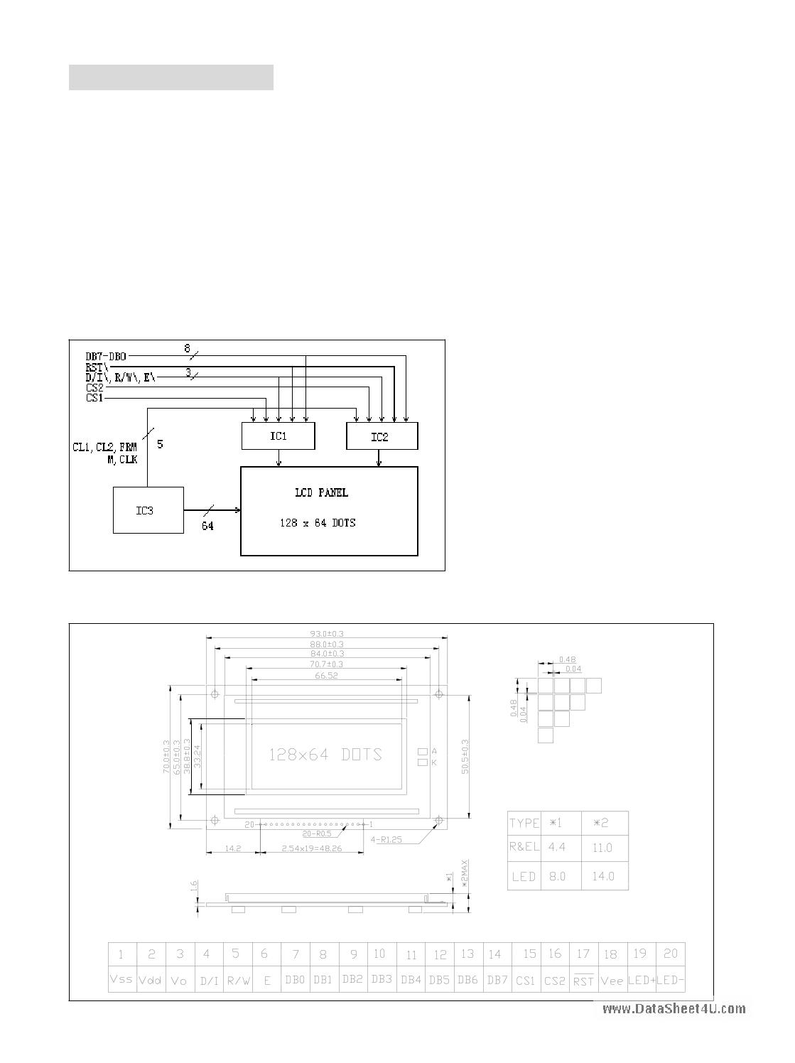 JHD12864E image
