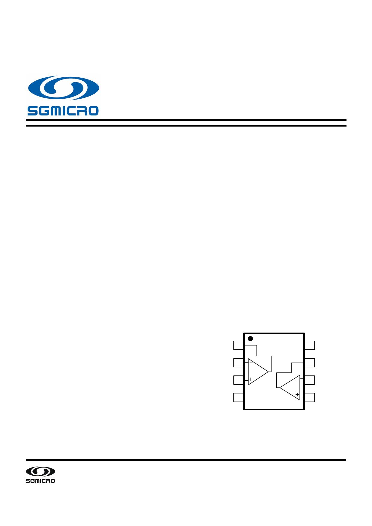 SGM8582 datasheet, circuit
