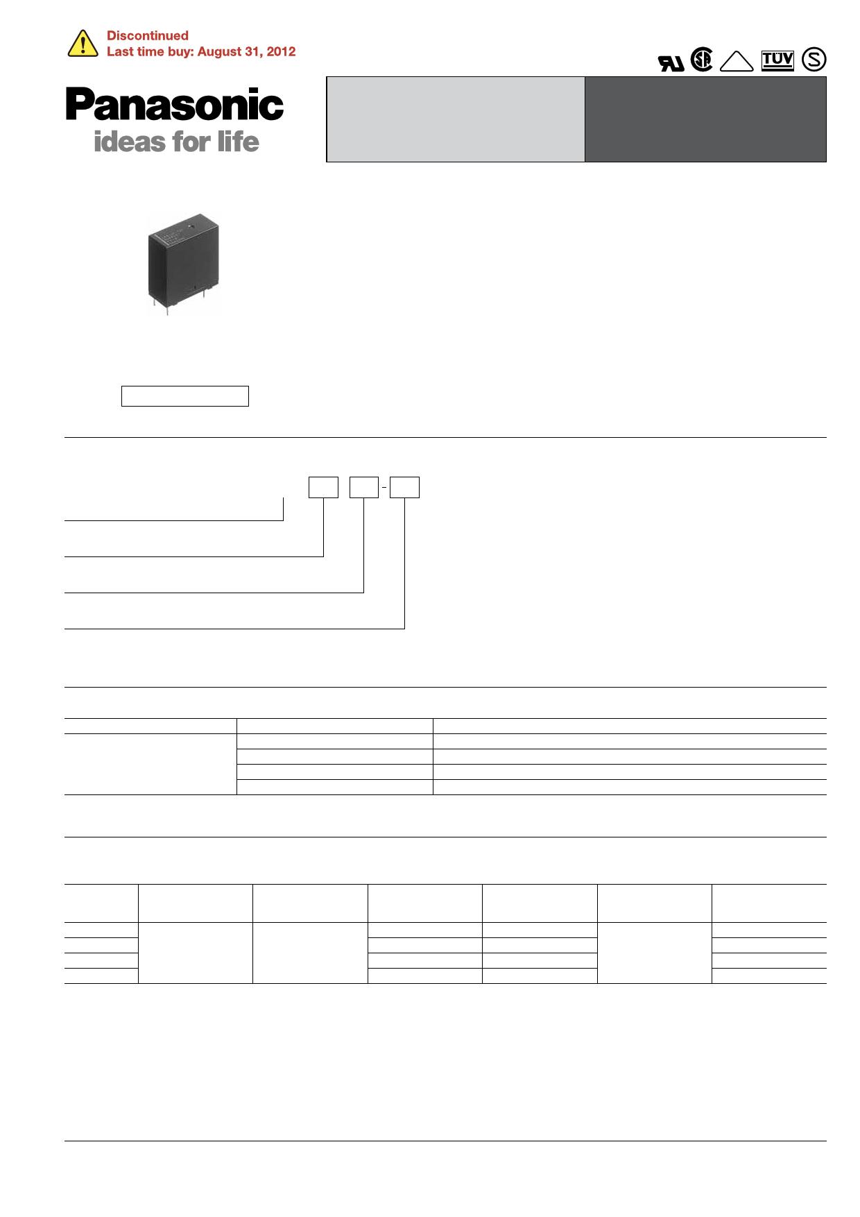 LKS1aF-5V دیتاشیت PDF