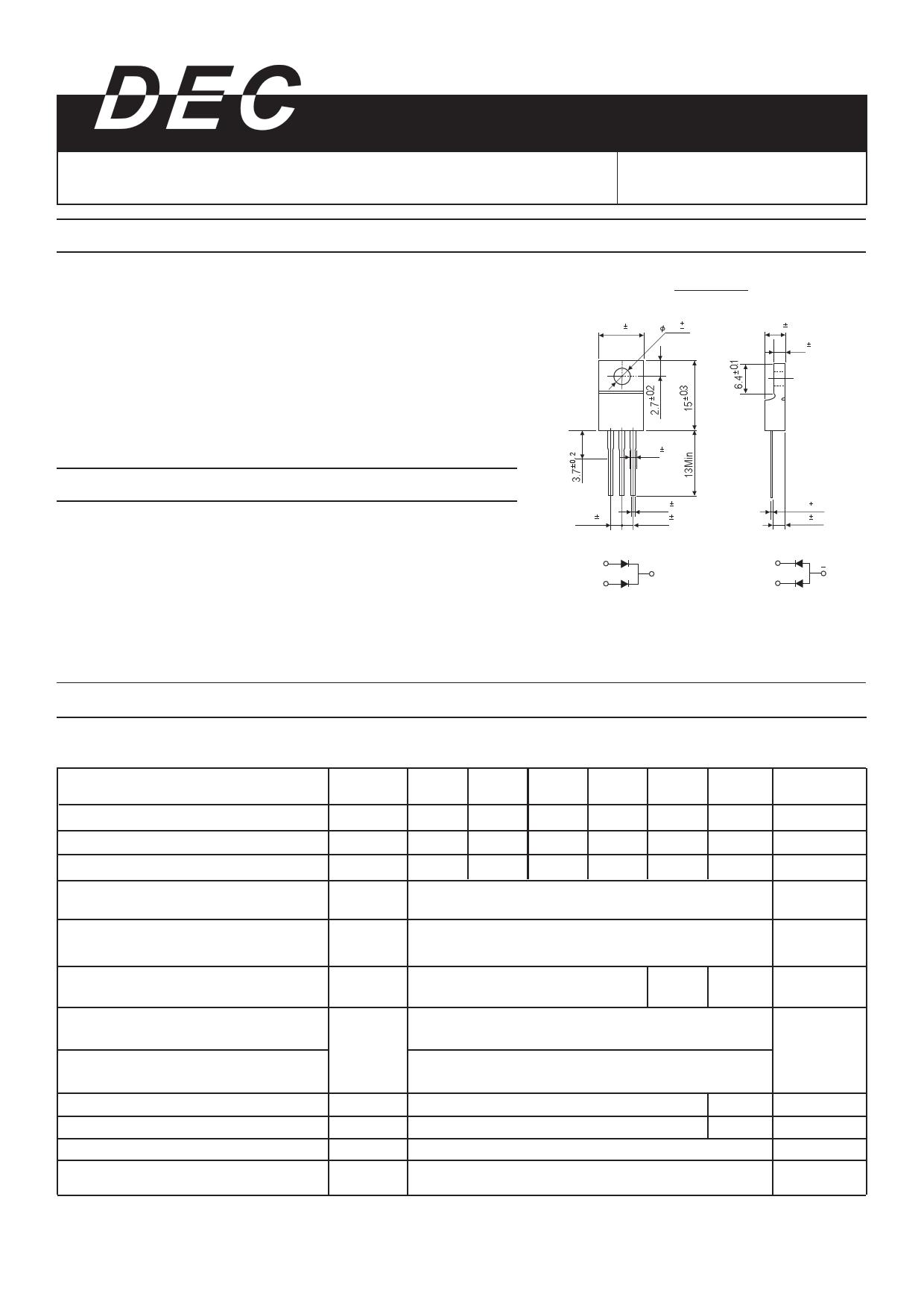 UFR1620 데이터시트 및 UFR1620 PDF