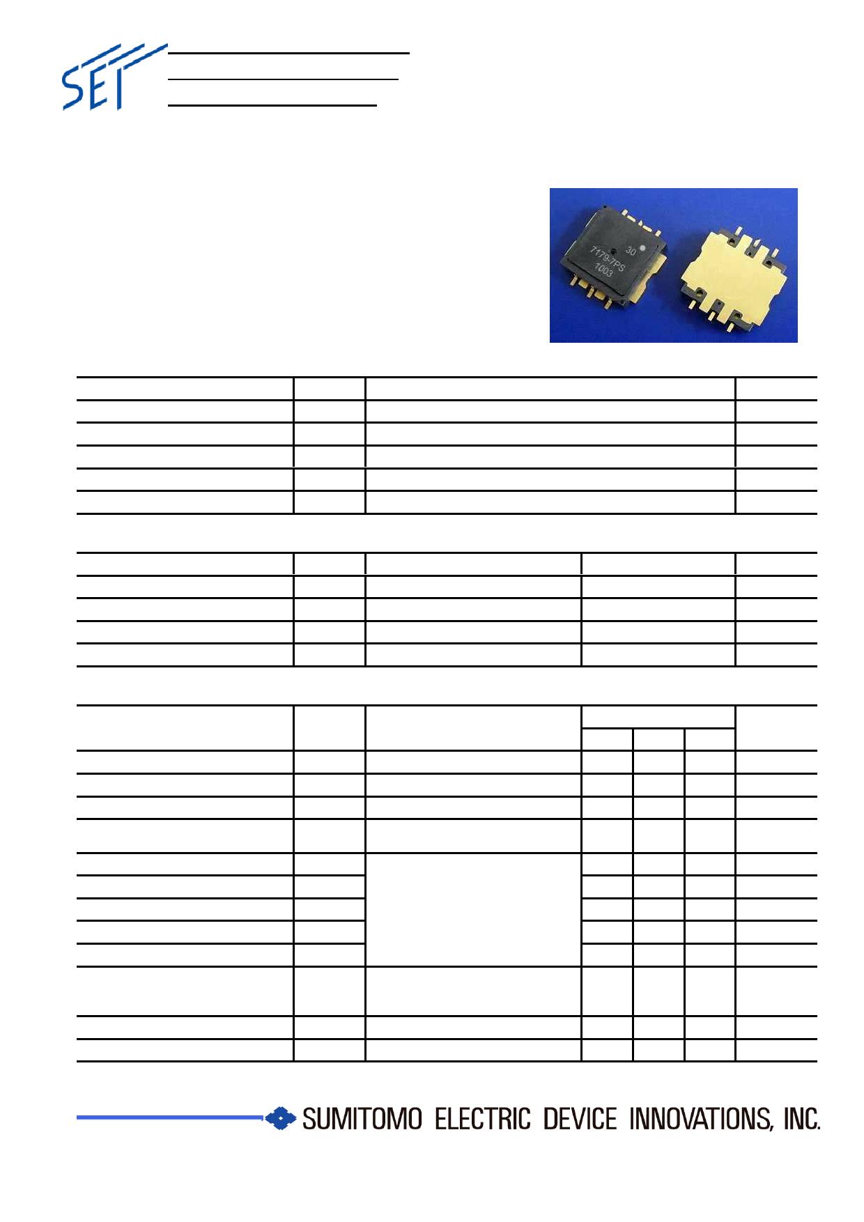 ELM7179-7PS Datasheet, ELM7179-7PS PDF,ピン配置, 機能