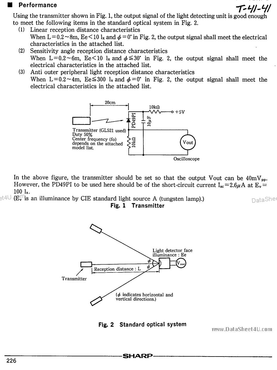 GP1U50X pdf, ピン配列