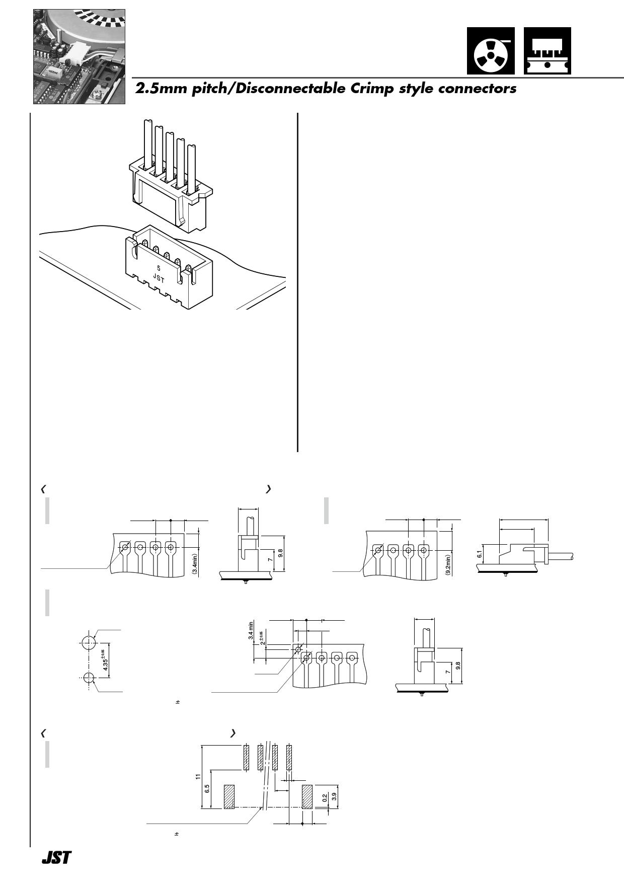 xhp-11 datasheet pdf   pinout