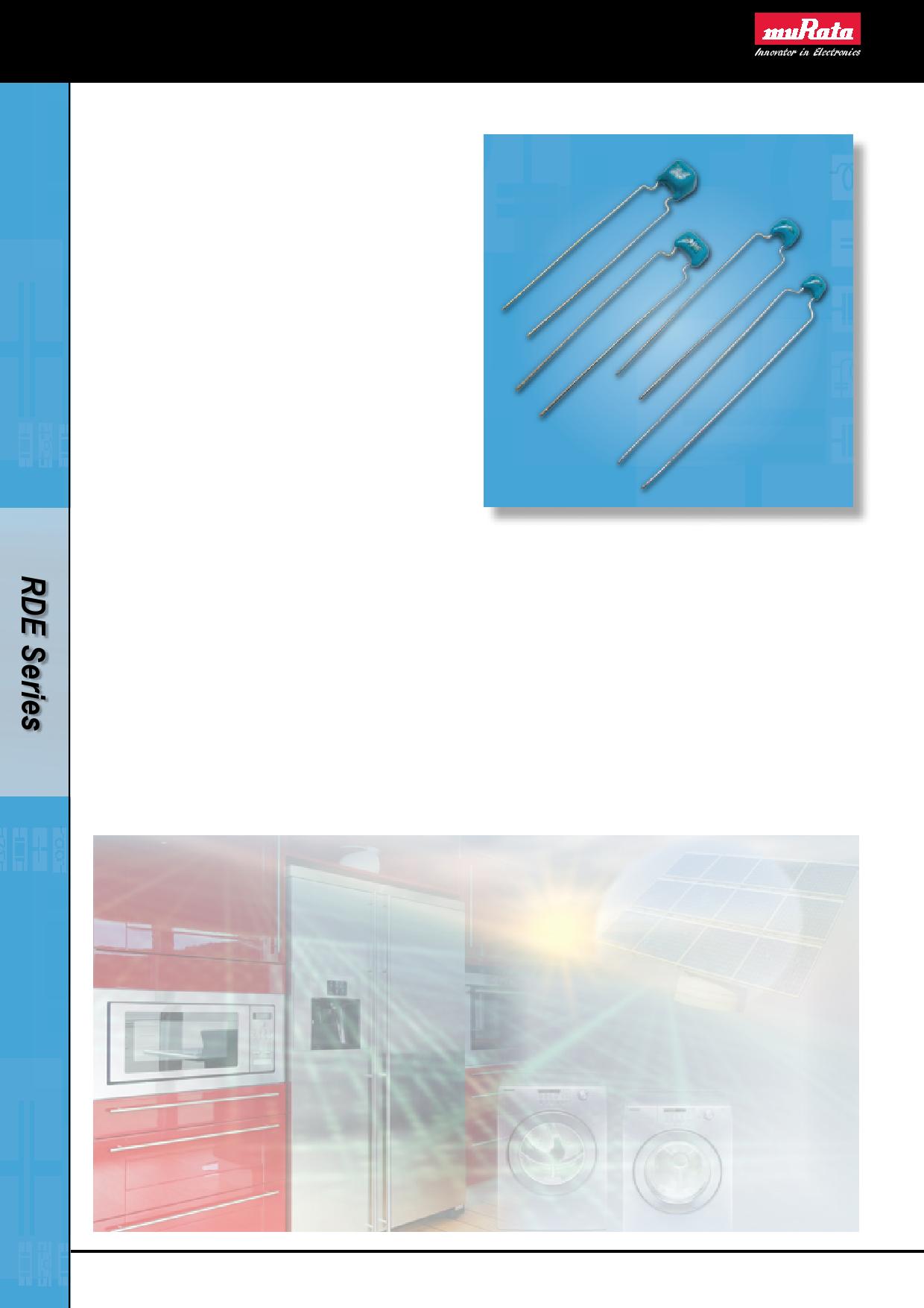 RDE25VDC دیتاشیت PDF